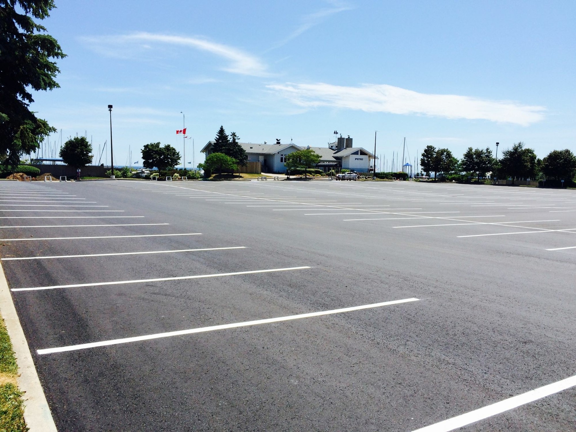 Parking at PCYC - Port Credit Yacht Club
