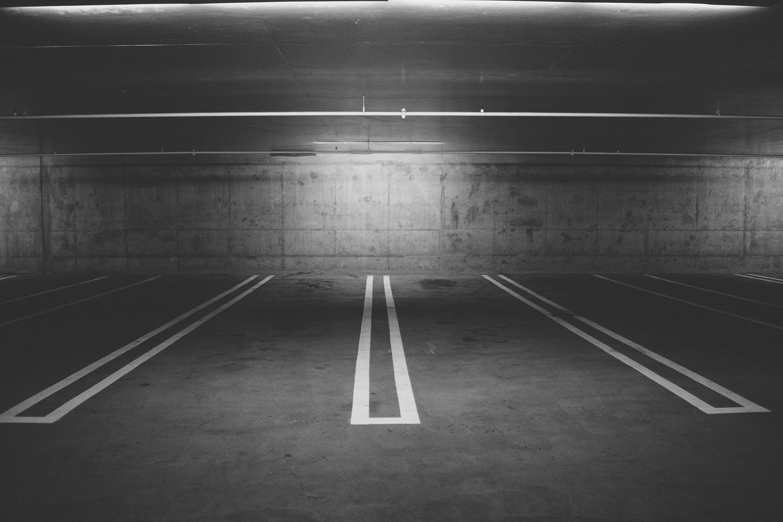 Free stock photo of parking, parking lot, underground garage