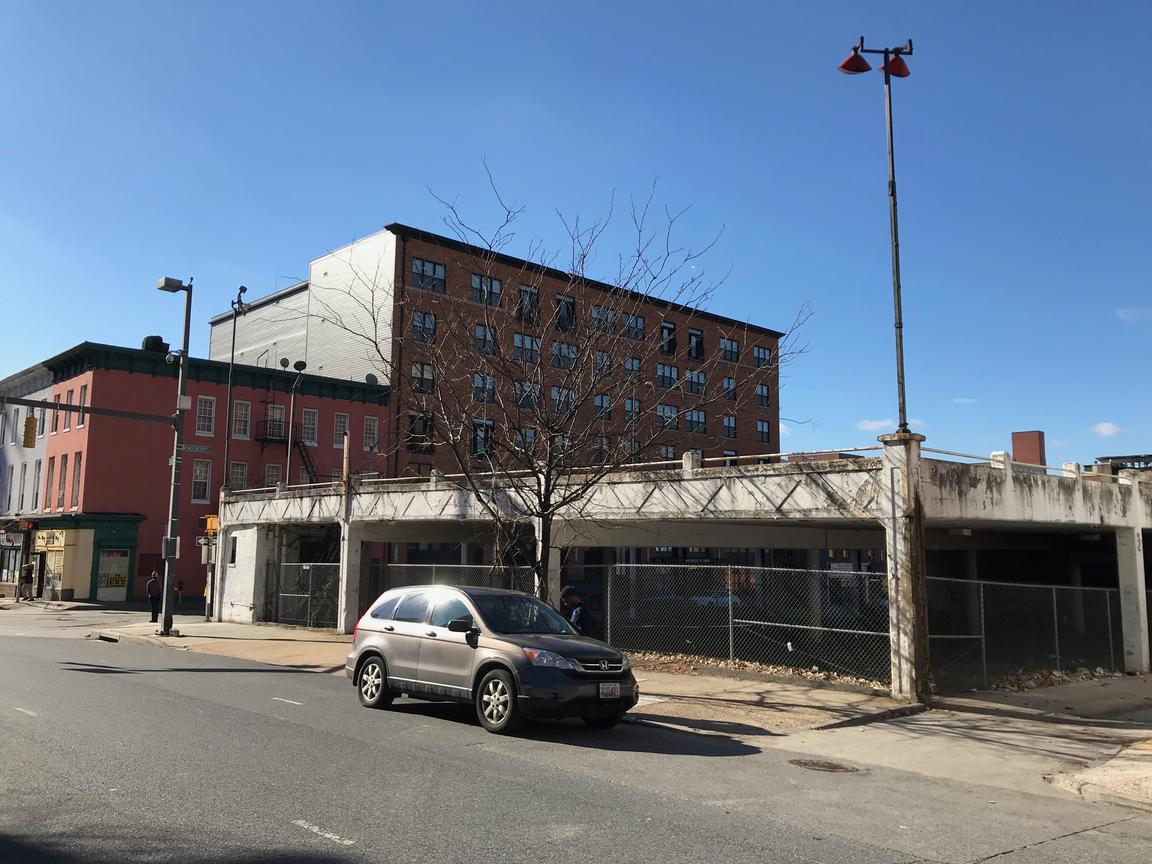 Parking structure, 400 park avenue, baltimore, md 21201 photo
