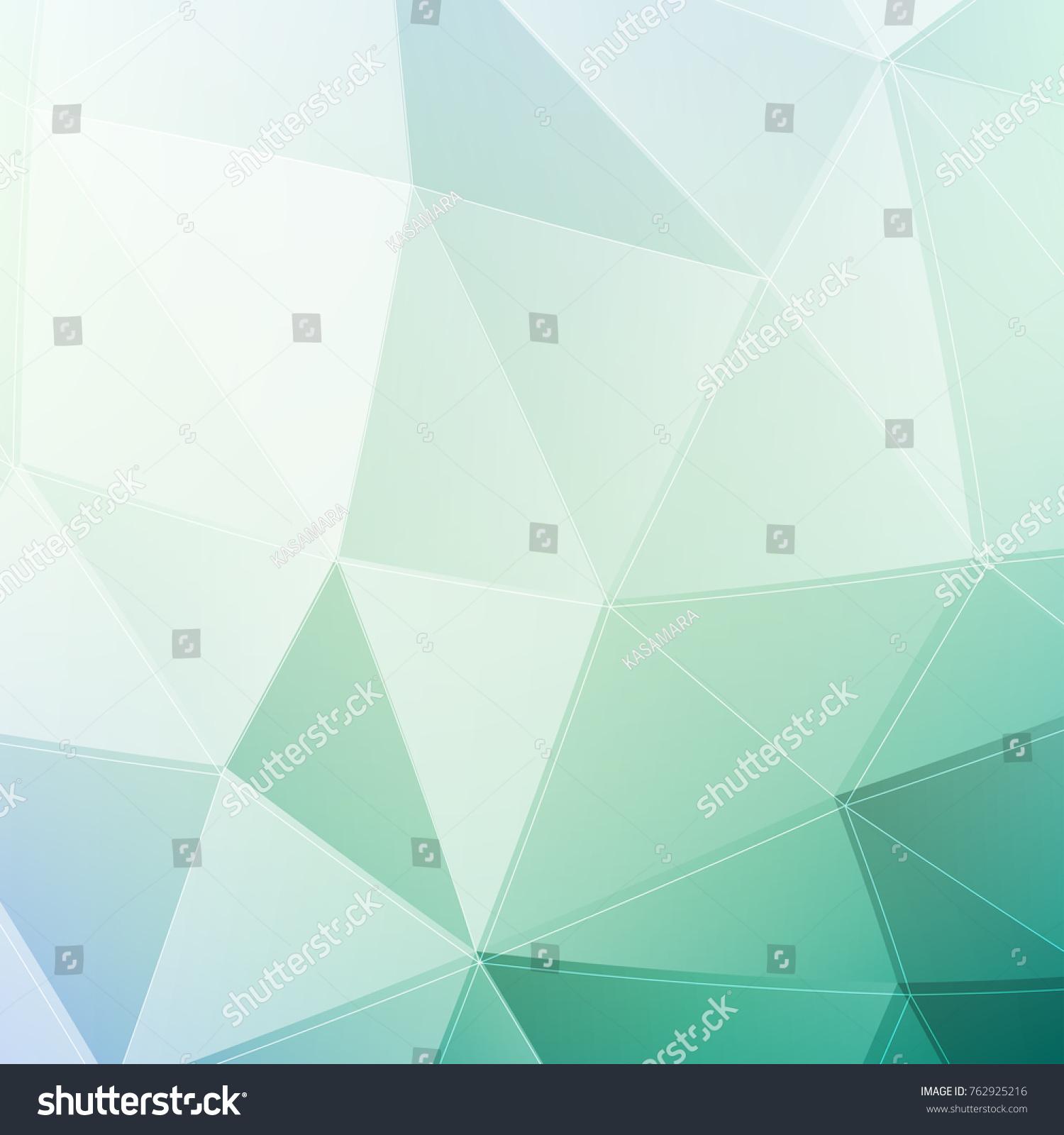 Pastels triangulated photo