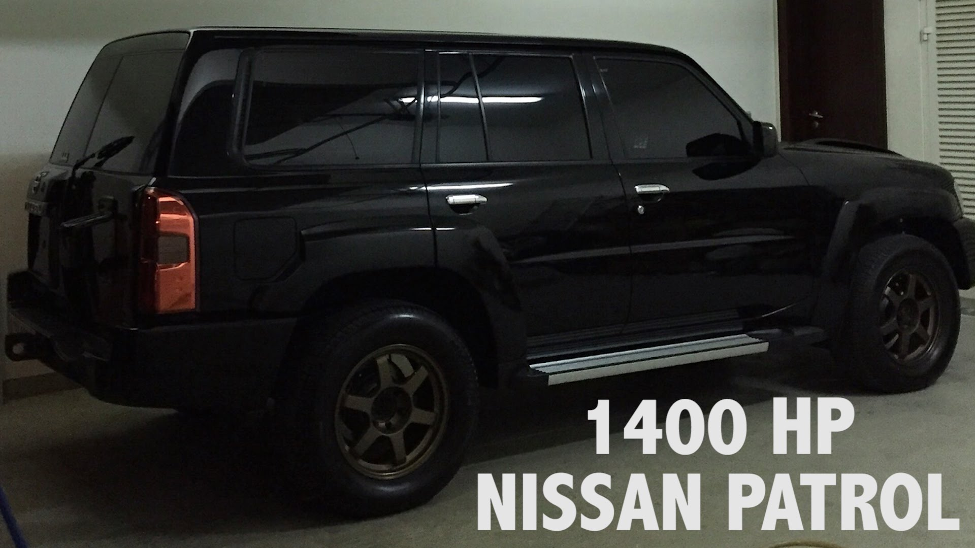 1400 Horsepower Nissan Patrol in Dubai! - YouTube