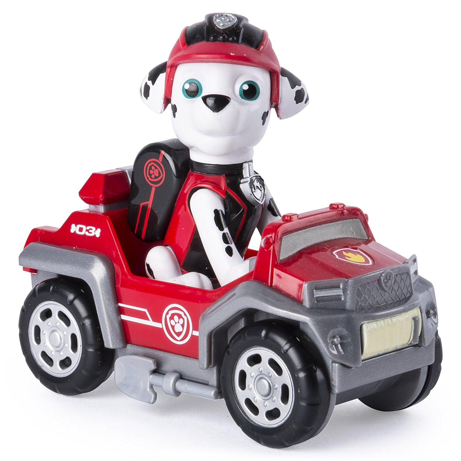 Amazon.com: Paw Patrol Mission Paw - Marshall's Rescue Rover ...