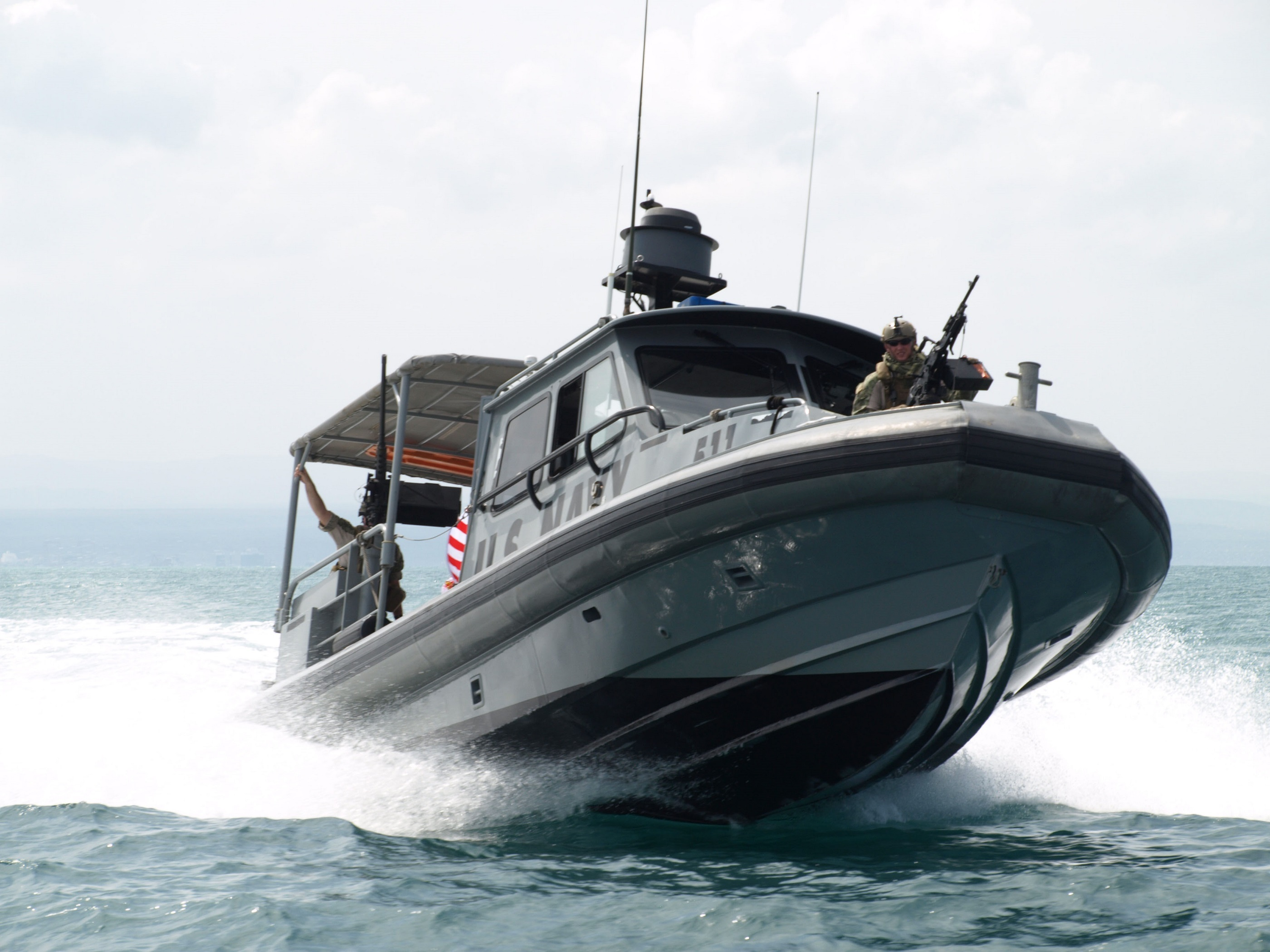 Patrol Boat, Boat, Guard, Ocean, Patrol, HQ Photo