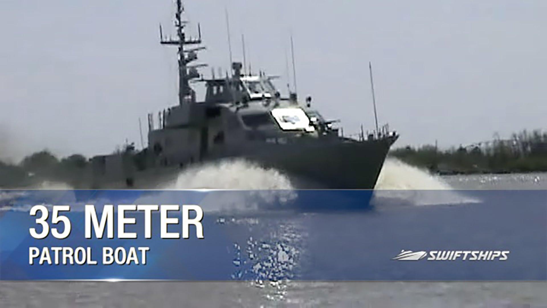 35 Meter Fast Patrol Boat - YouTube