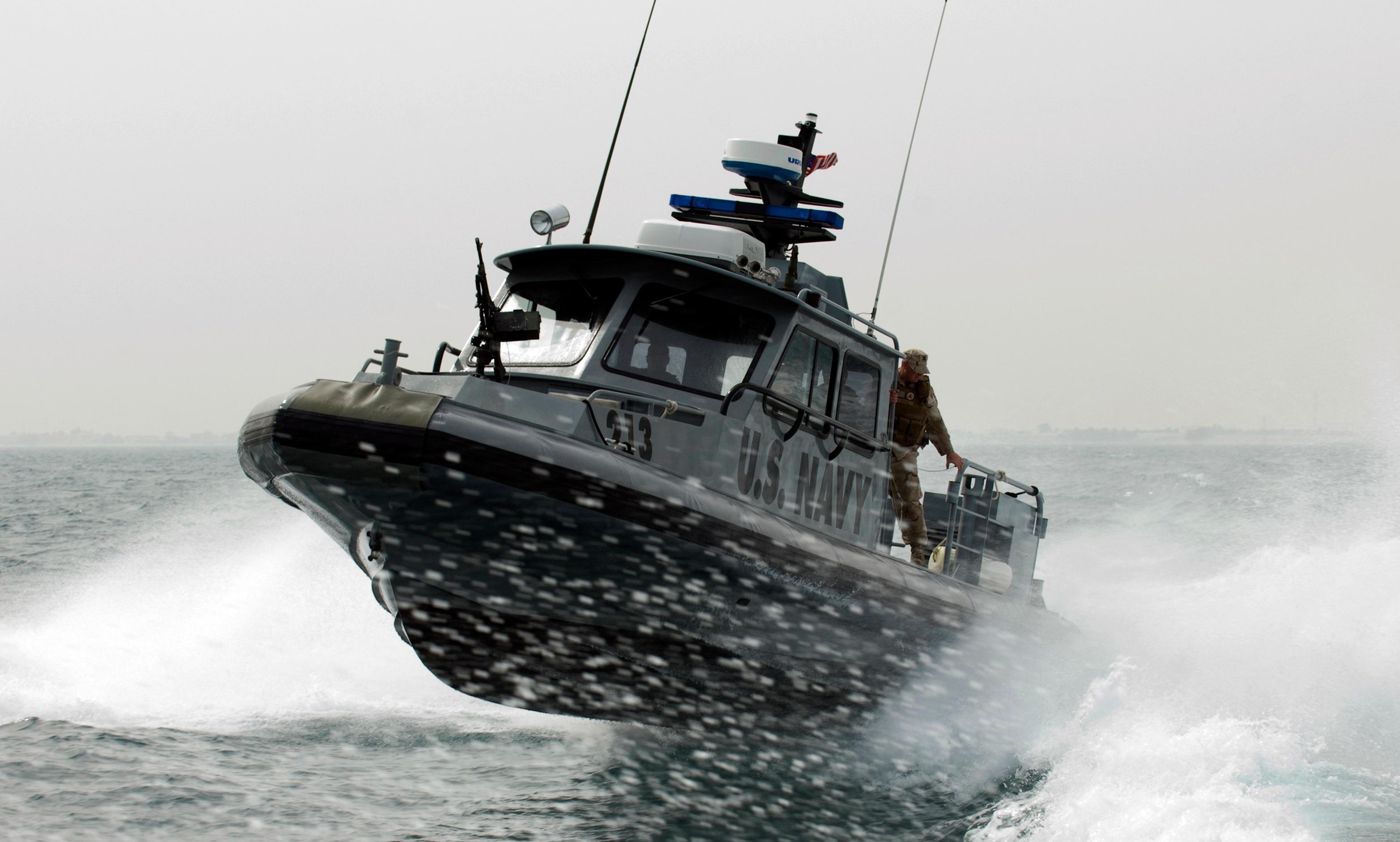 Patrol Boat, Boat, Navy, Ocean, Patrol, HQ Photo