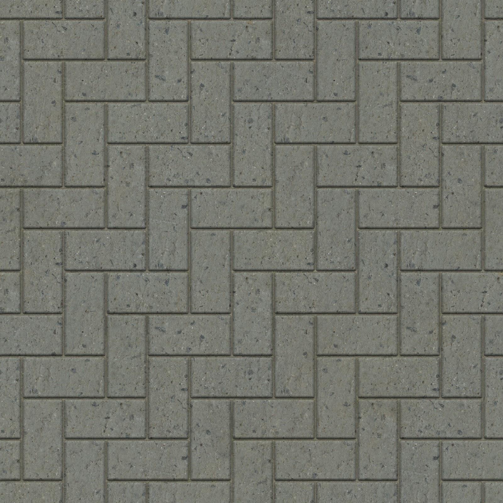 High Resolution Seamless Textures: Brick tiles pavement seamless ...