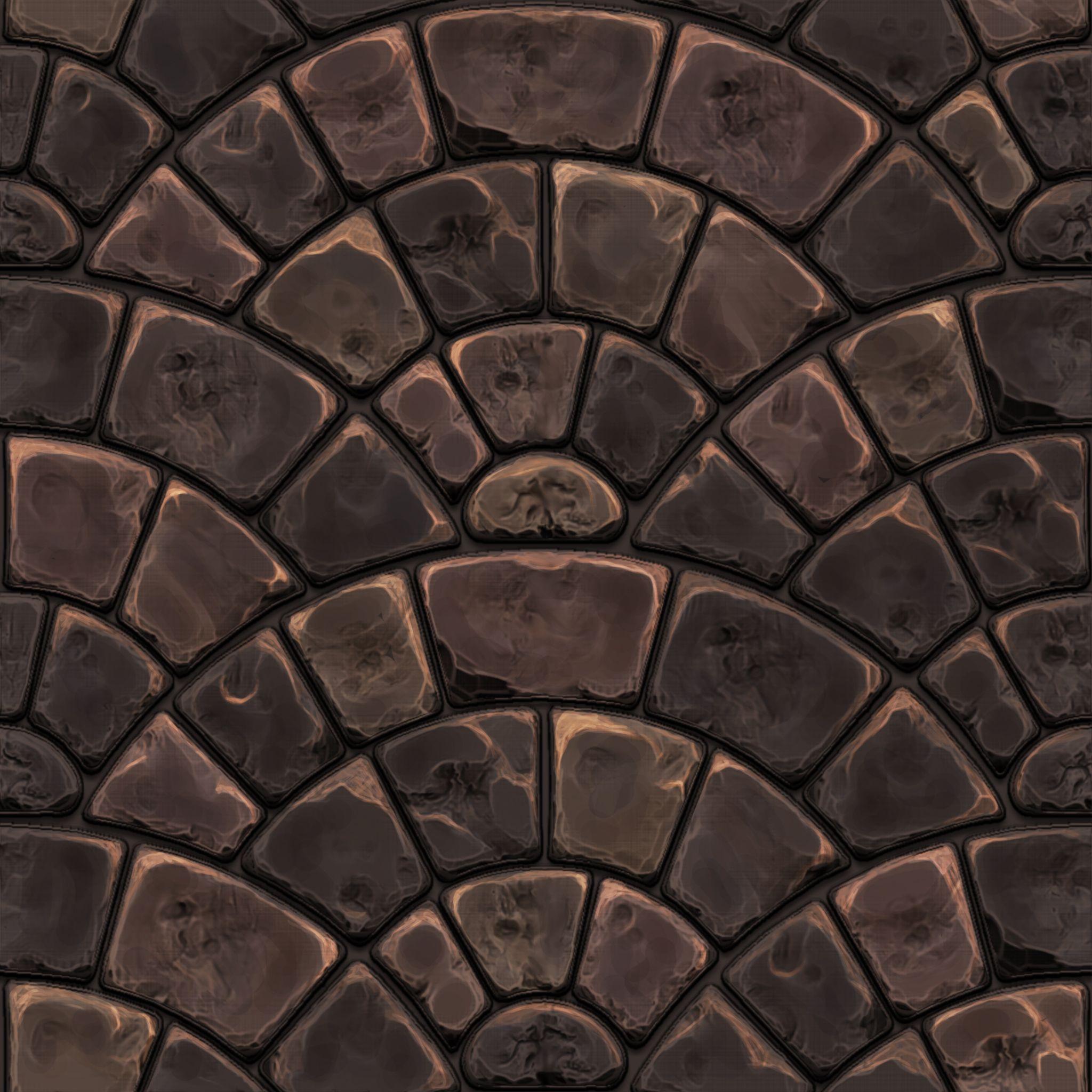 Handpainted stone pavement texture | 3D Inspiration | Pinterest ...