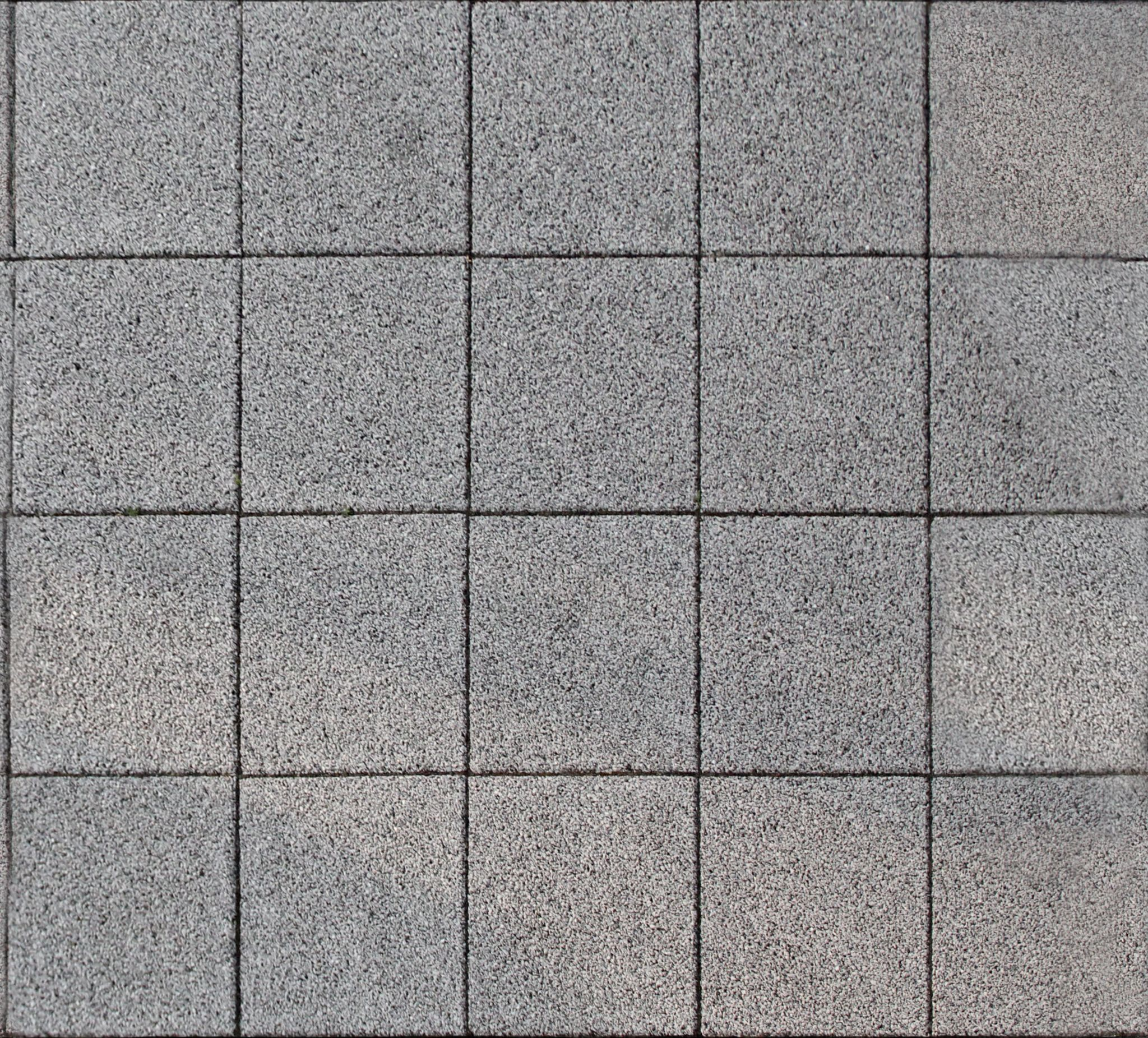 Paving - Grey Square Stones - Seamless Texture with normalmap ...