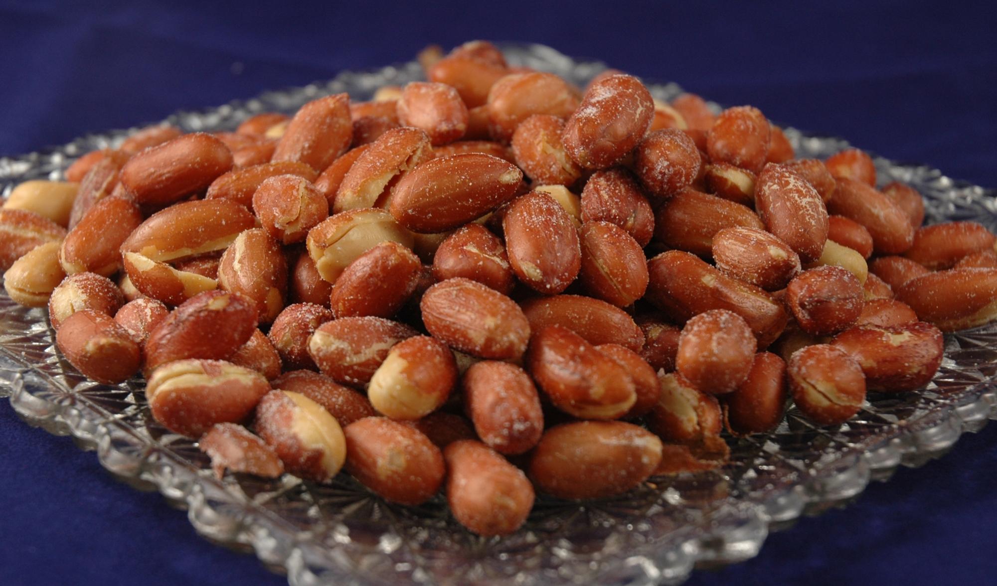 1 lb. Peanuts – Redskins Roasted & Salted – Ohio Peanut Shoppe