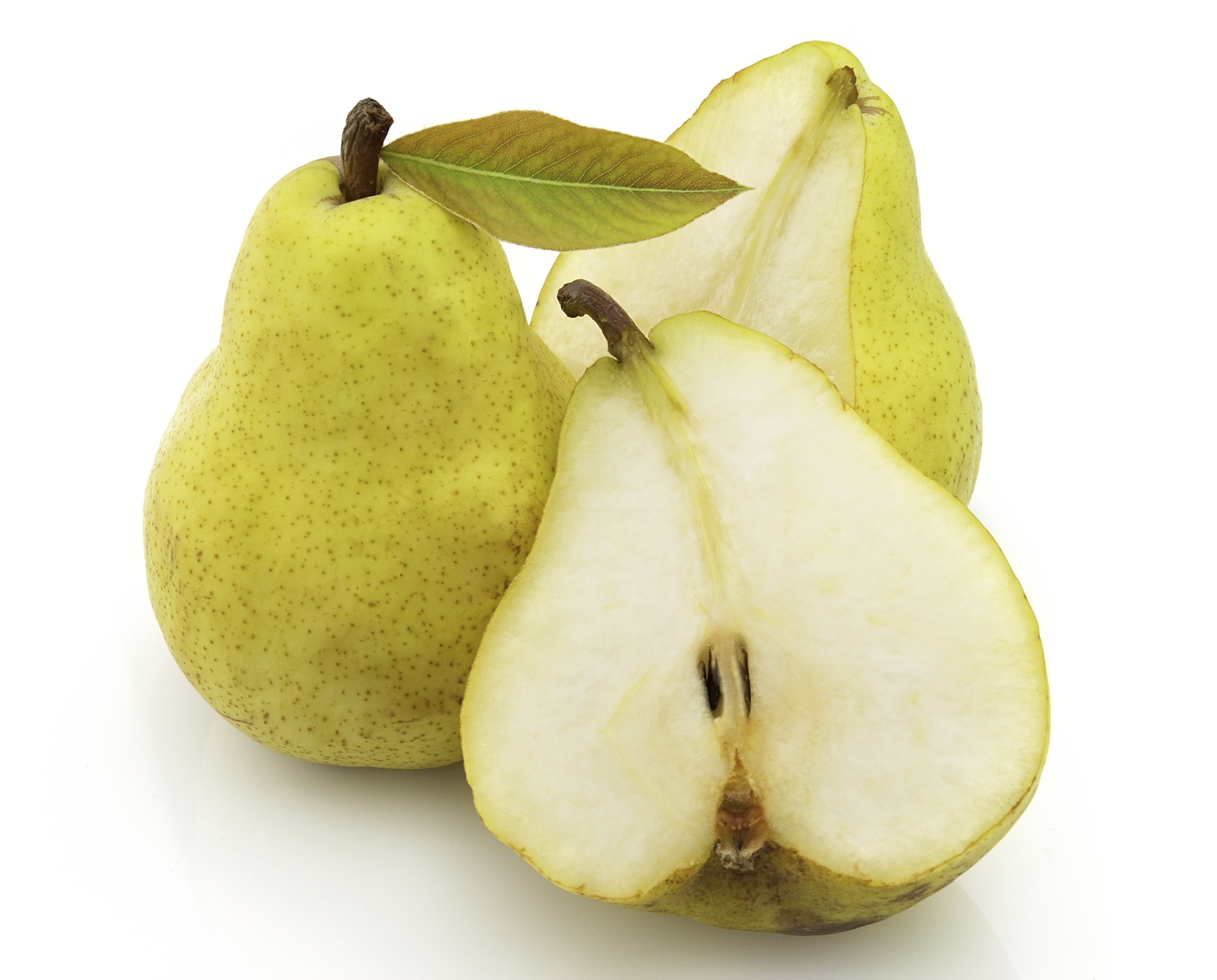 Sliced pear photo