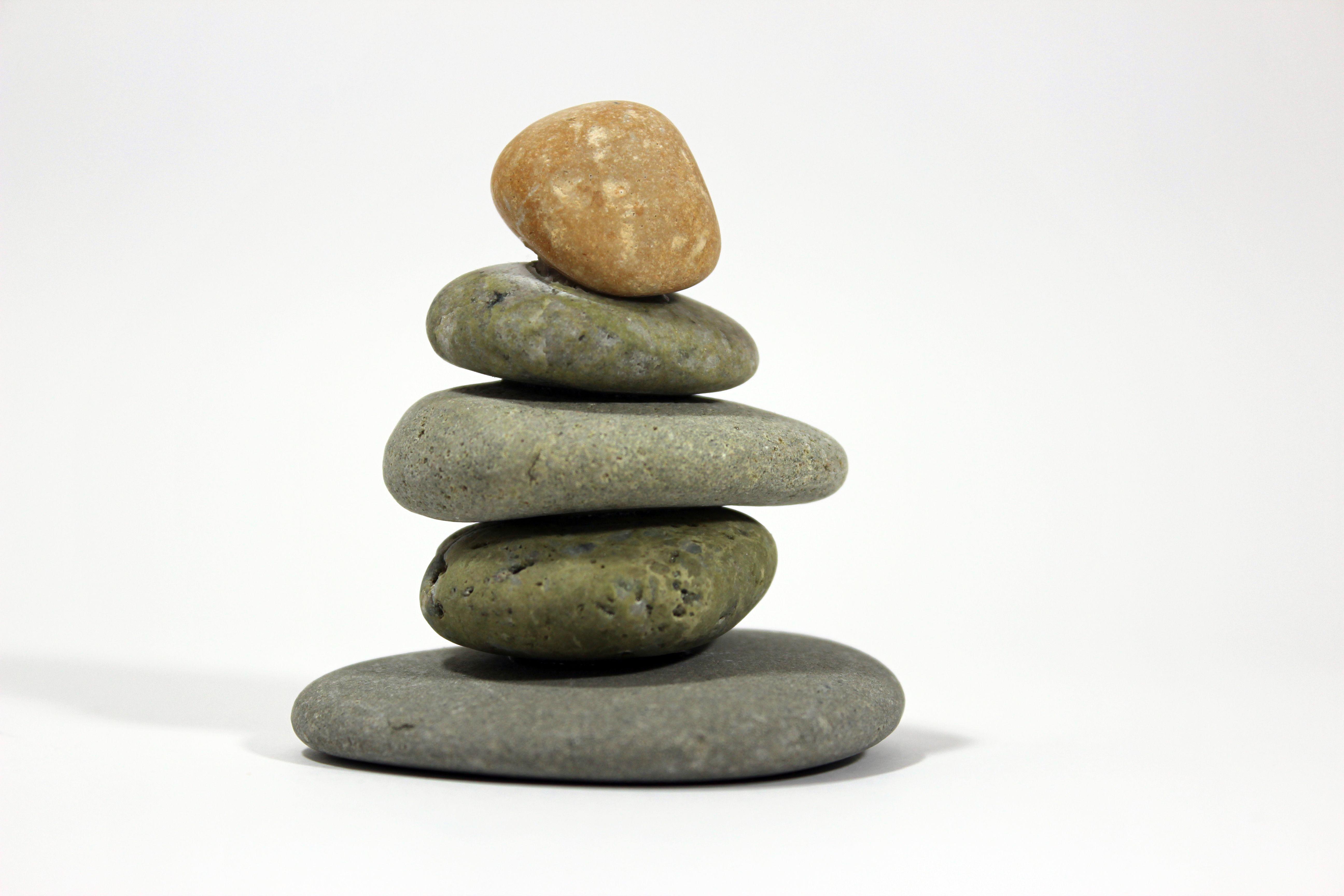 Pebble Art Balance - Item No.7 | Pebble Art - Balance Candle Holders ...