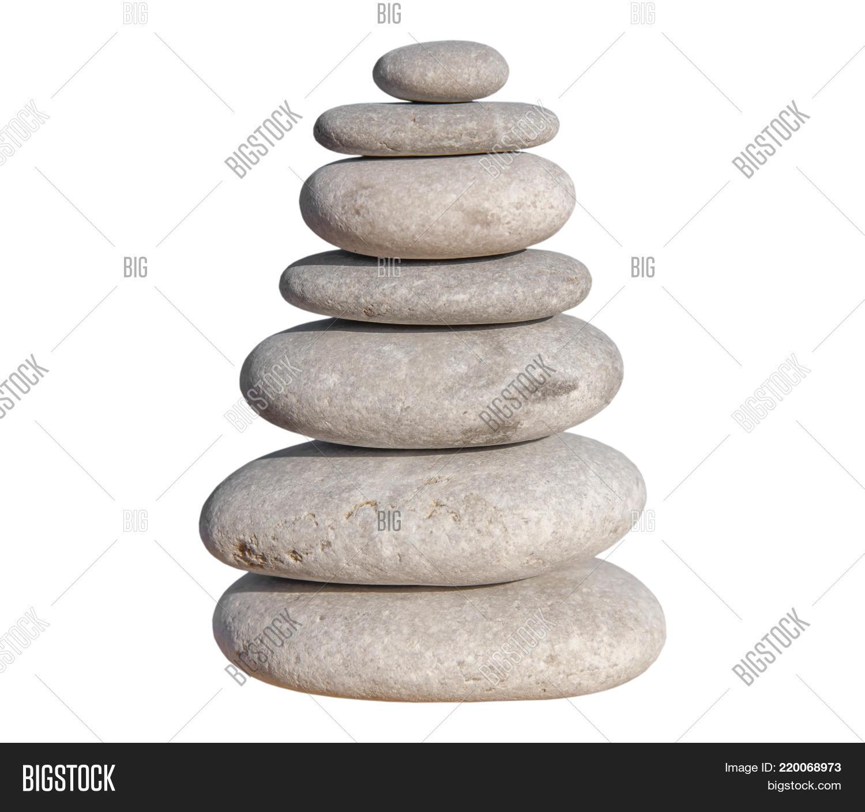 Pebble Stone Set Balance Image & Photo | Bigstock