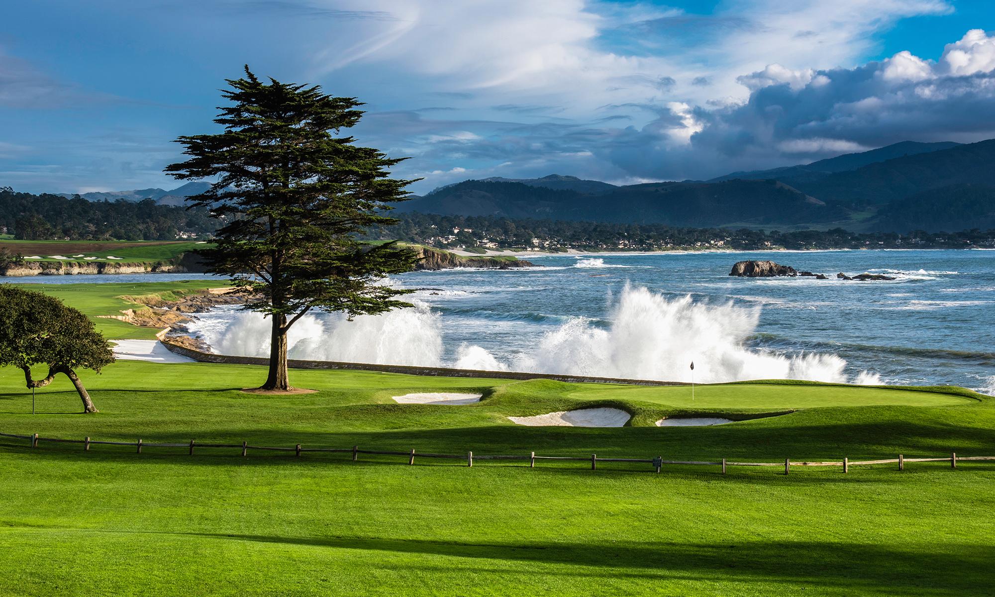 Legendary Golf Courses at Pebble Beach Resorts, California