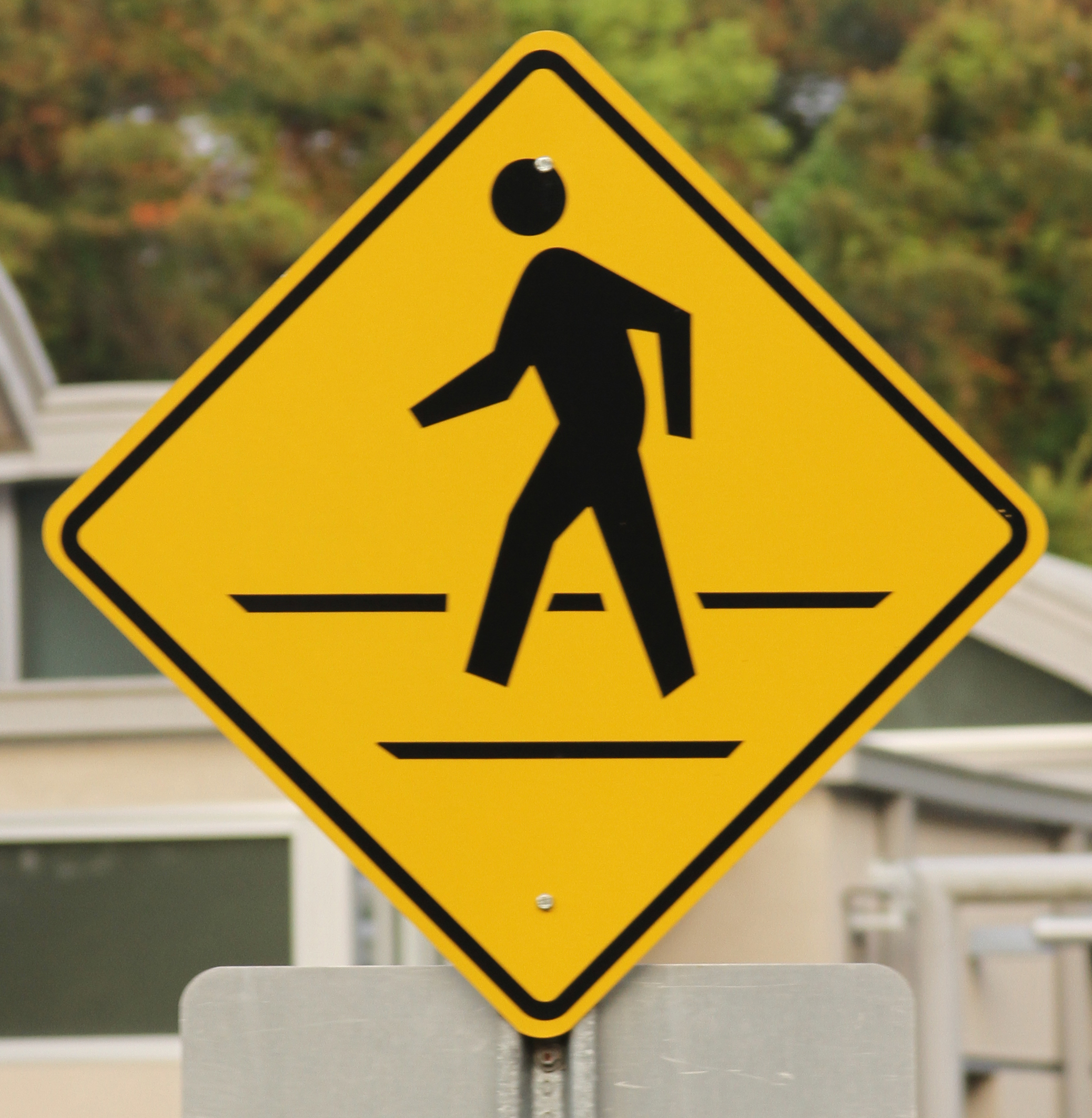 Pedestrian sign photo