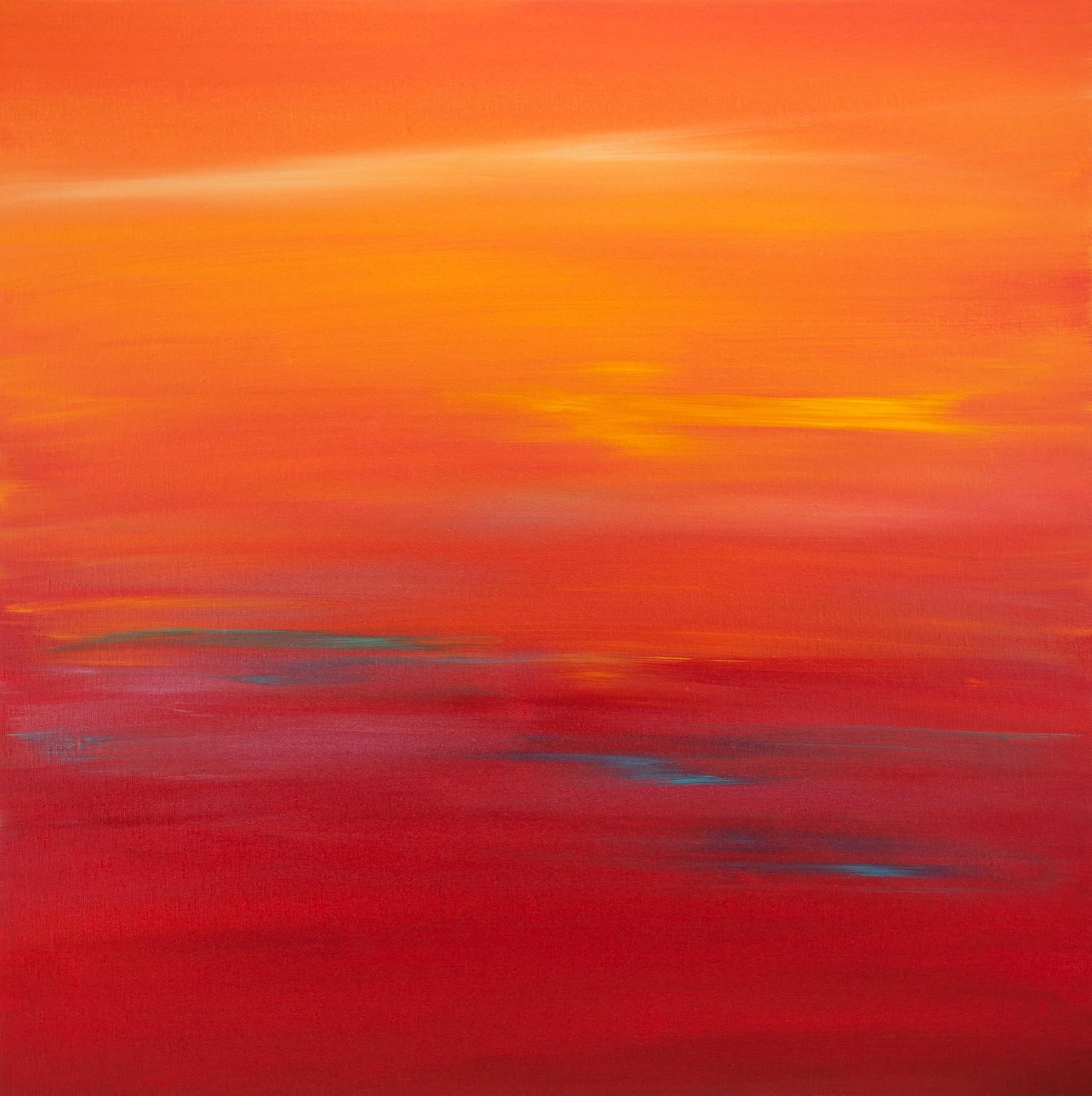 Sunset 58 by Hilary Winfield - Vango Original Art