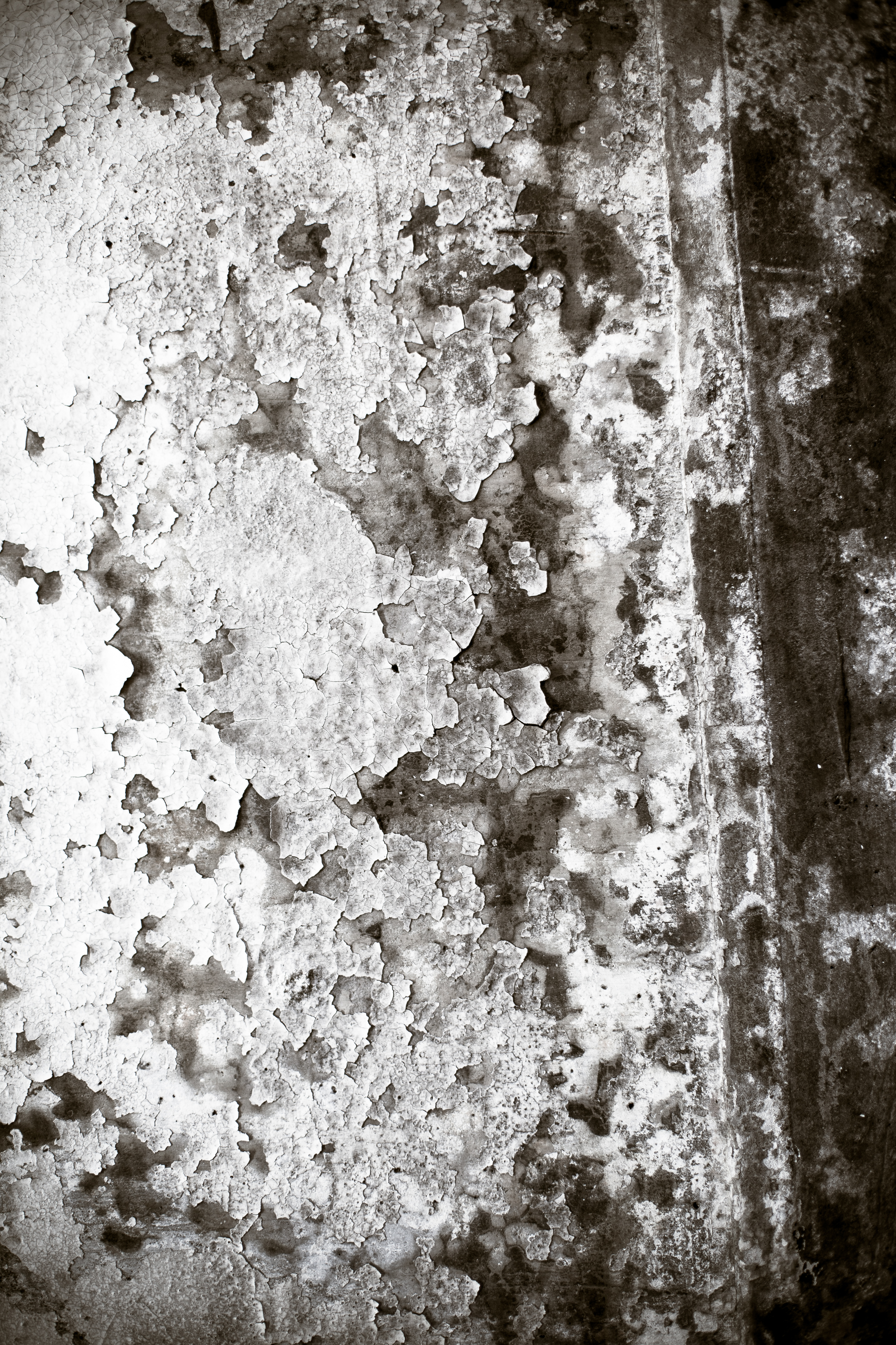 Peeling paint wall texture photo