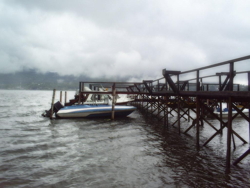 peer, Boats, Cloudy, Fog, Motor, HQ Photo