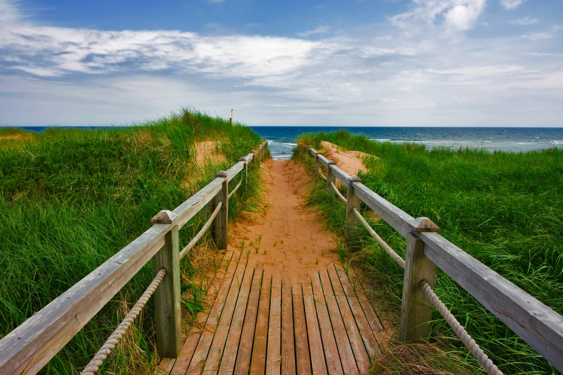 Saatchi Art: PEI Beach Boardwalk - Basin Head - Limited Edition 1 of ...