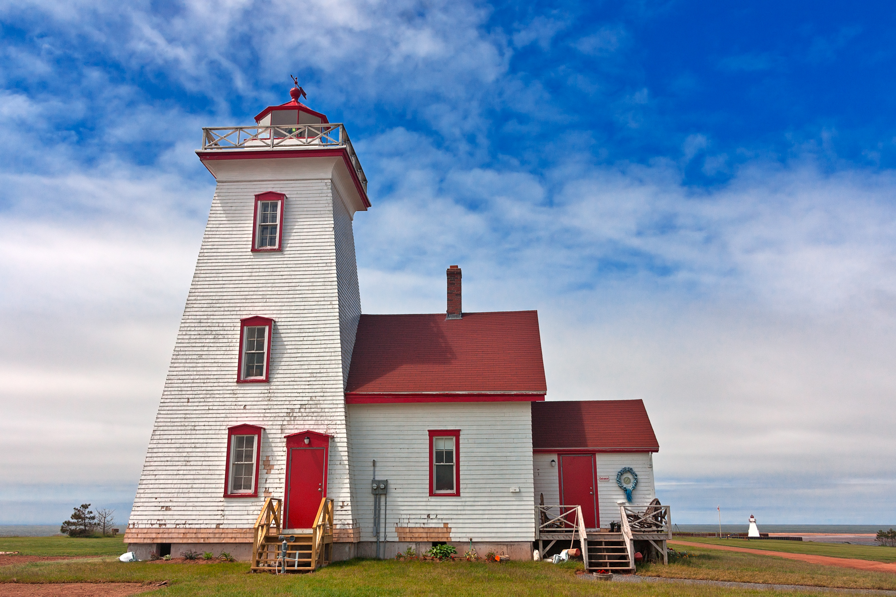 Pei lighthouse - hdr photo