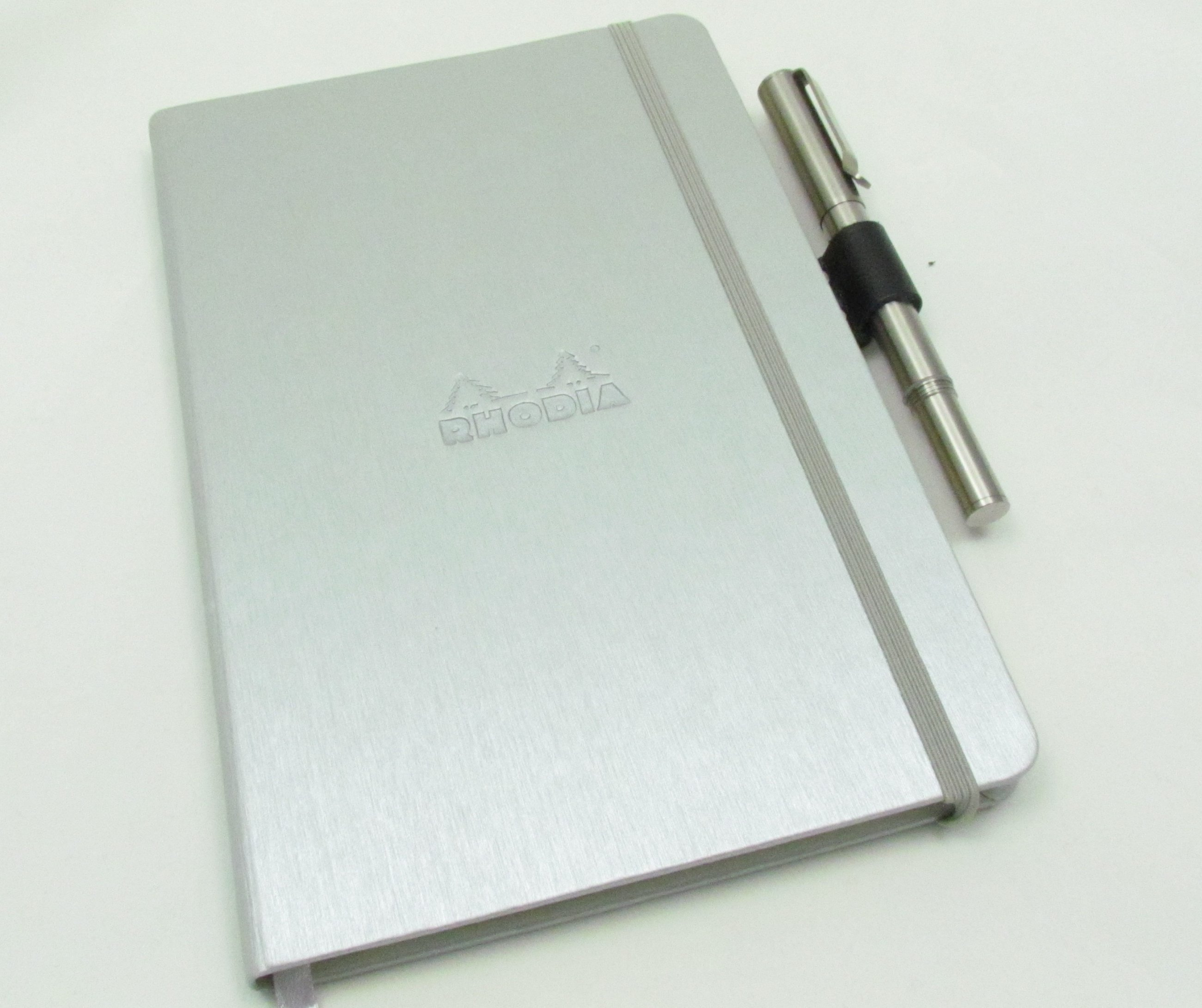 Leather and Steel Pen Clip for your Notebook - OfficeSupplyGeek®