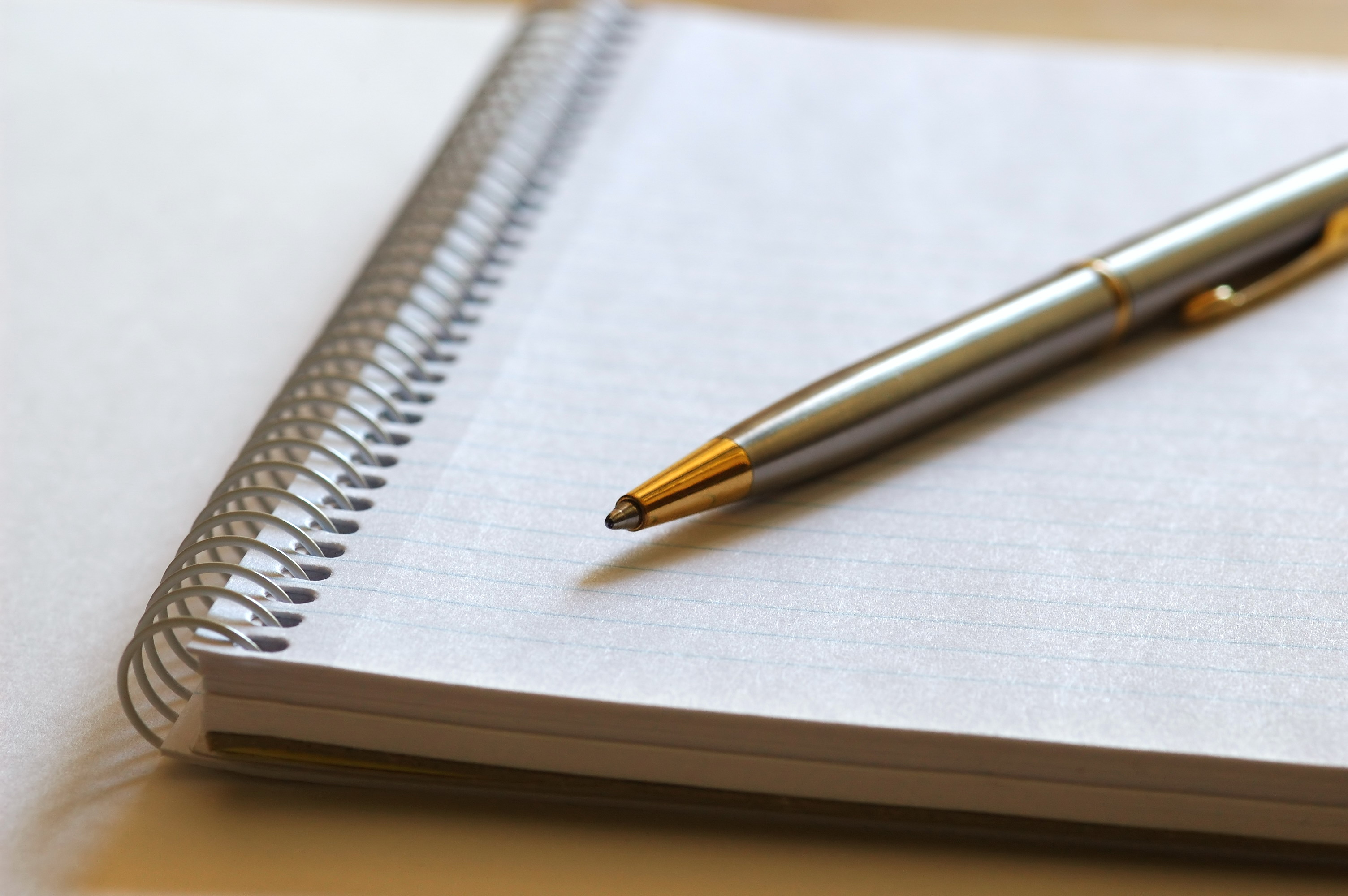 Staying Committed With The Help Of A Pen And Notebook | Marc's Blog