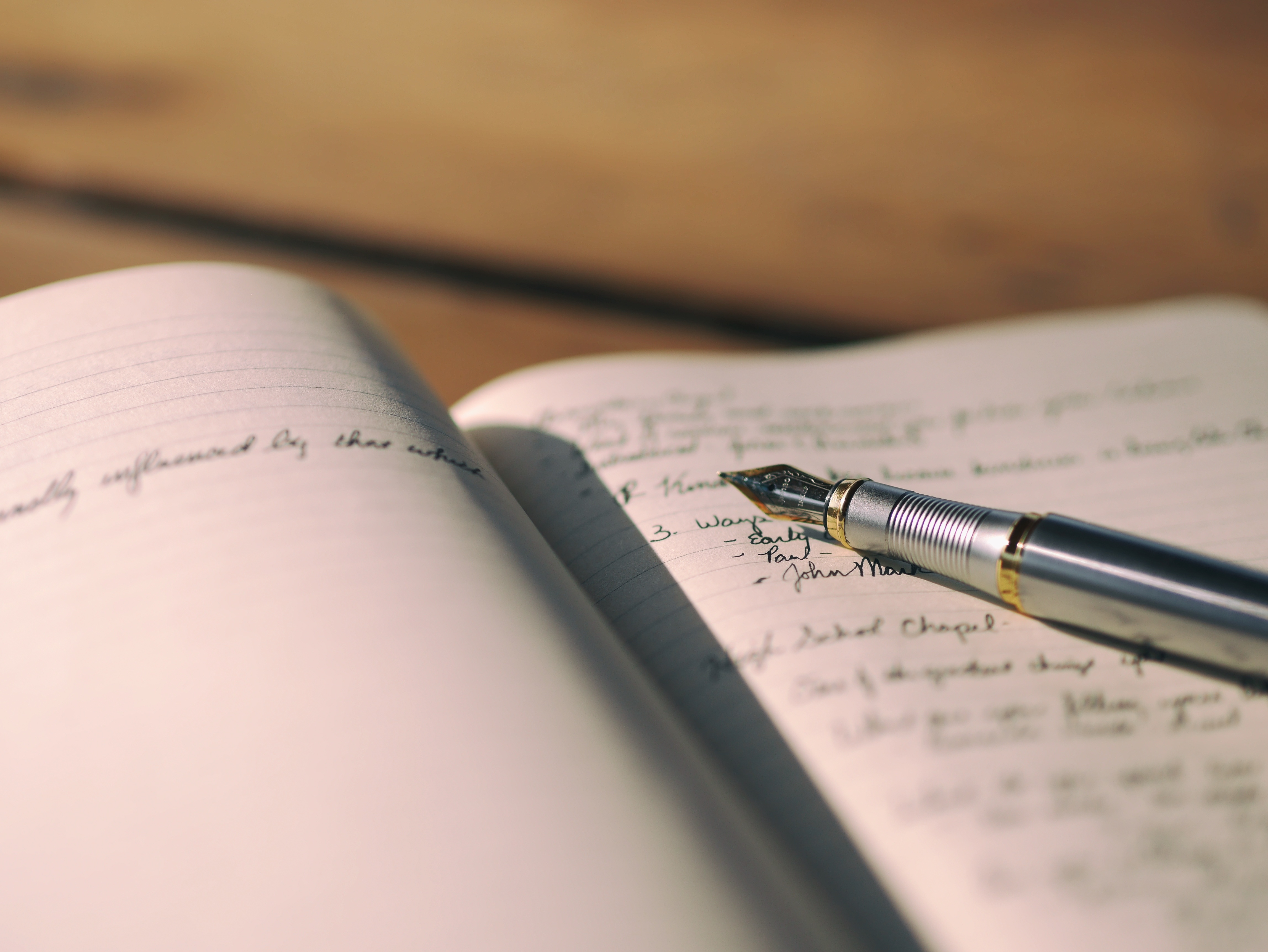 Notebook and Pen image - Free stock photo - Public Domain photo ...
