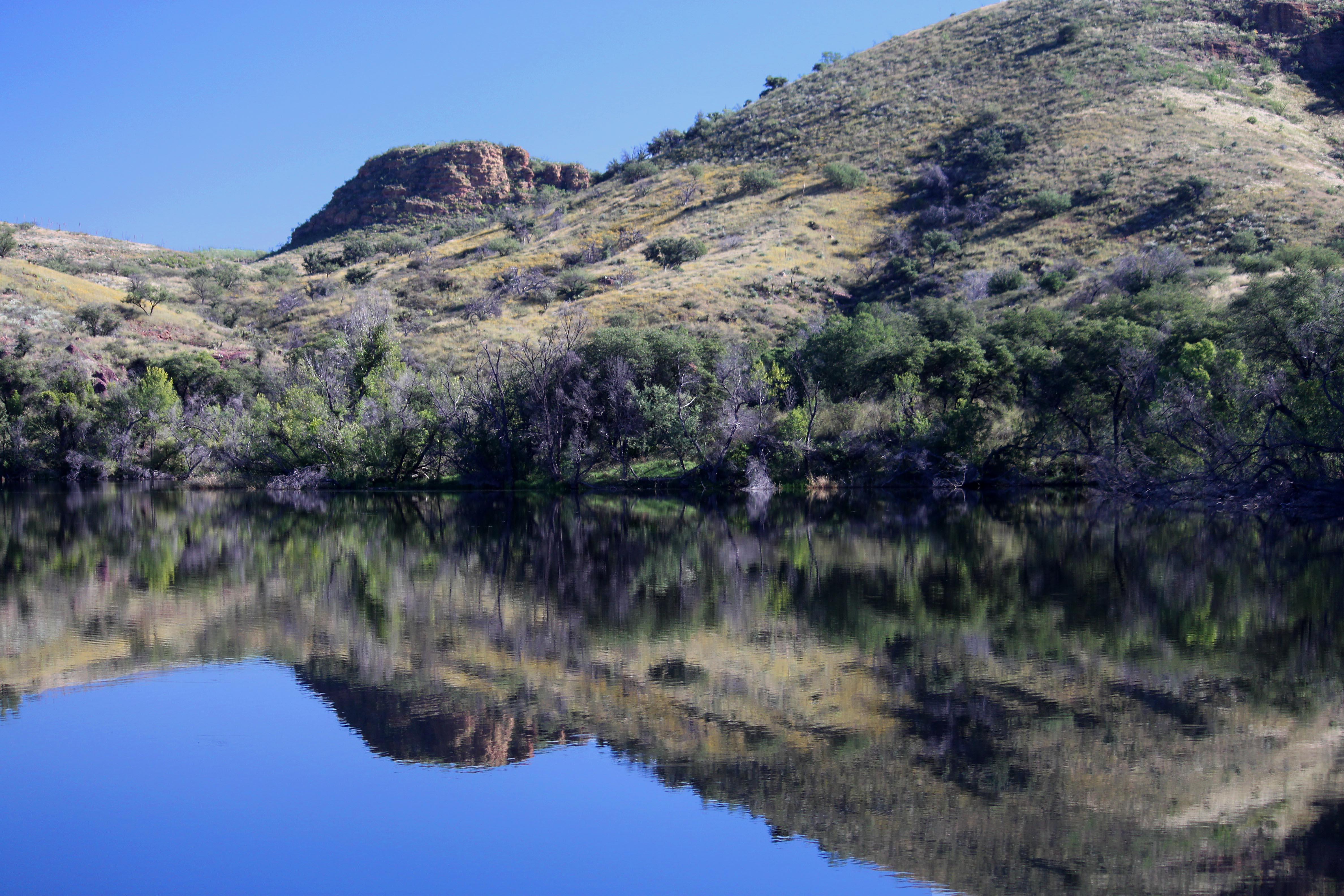 PENA BLANCA LAKE (10-13-10) west of nogales, scc, az -03, Outdoor, Mountainside, Mountain, Landscape, HQ Photo