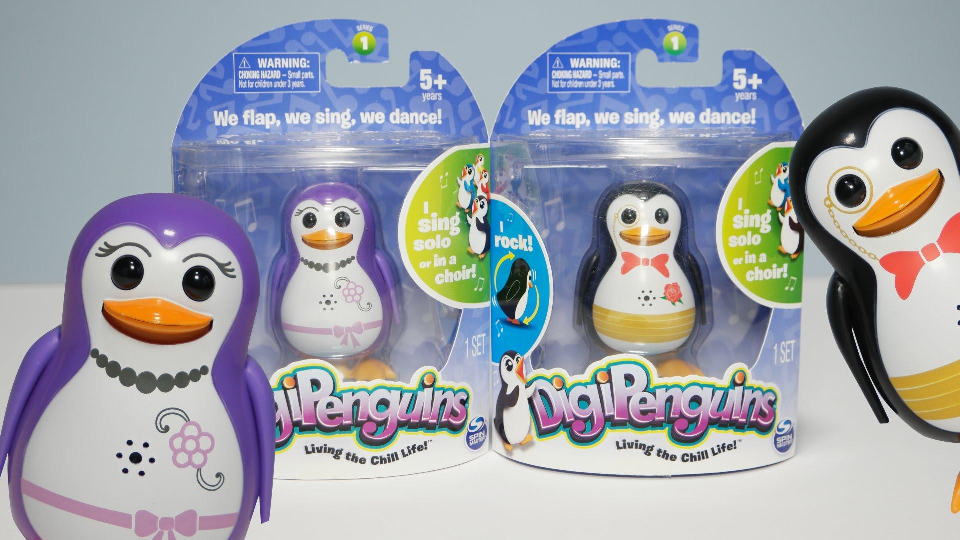 Penguins sing photo
