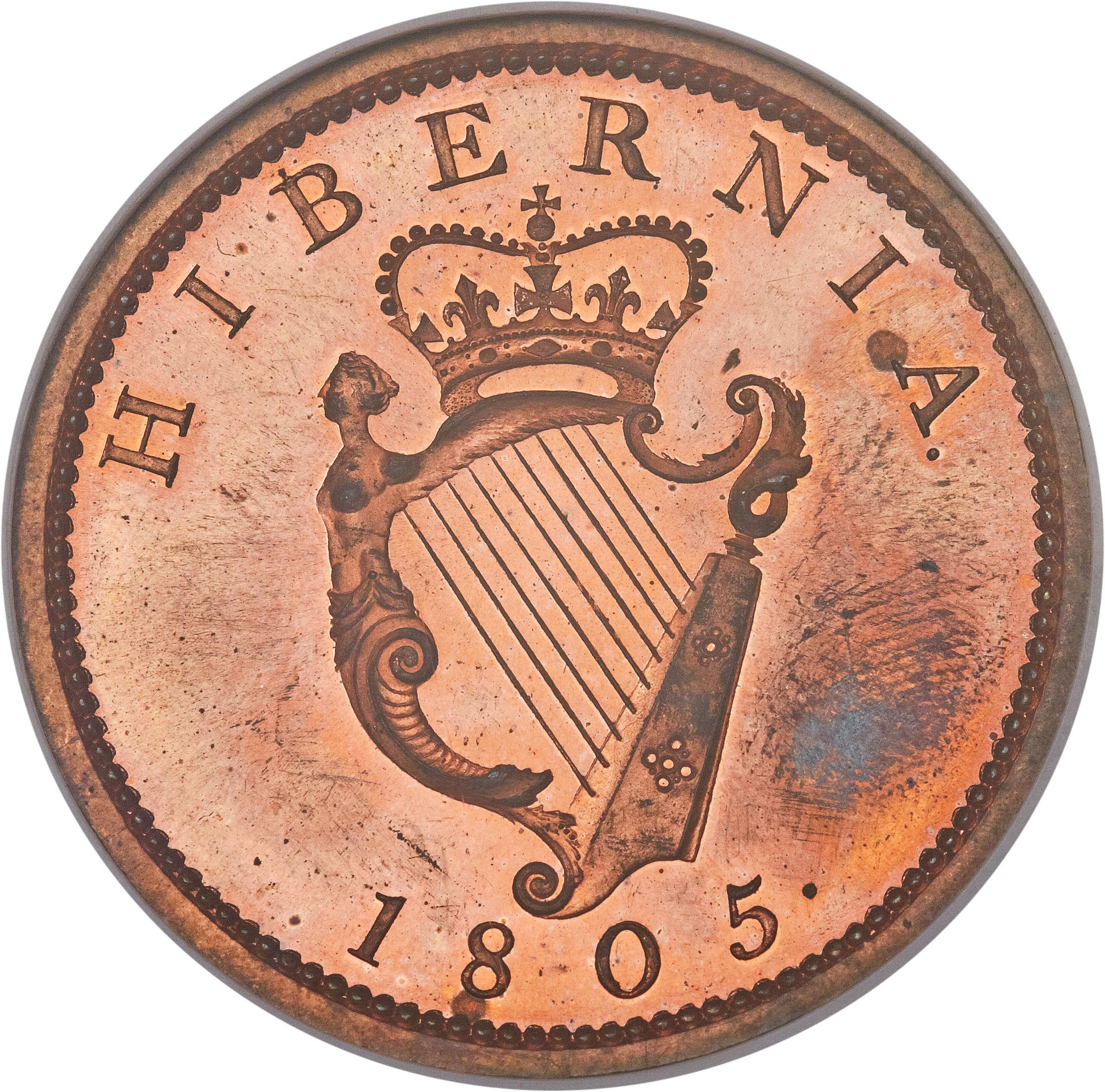 1 Penny - George III - Ireland – Numista