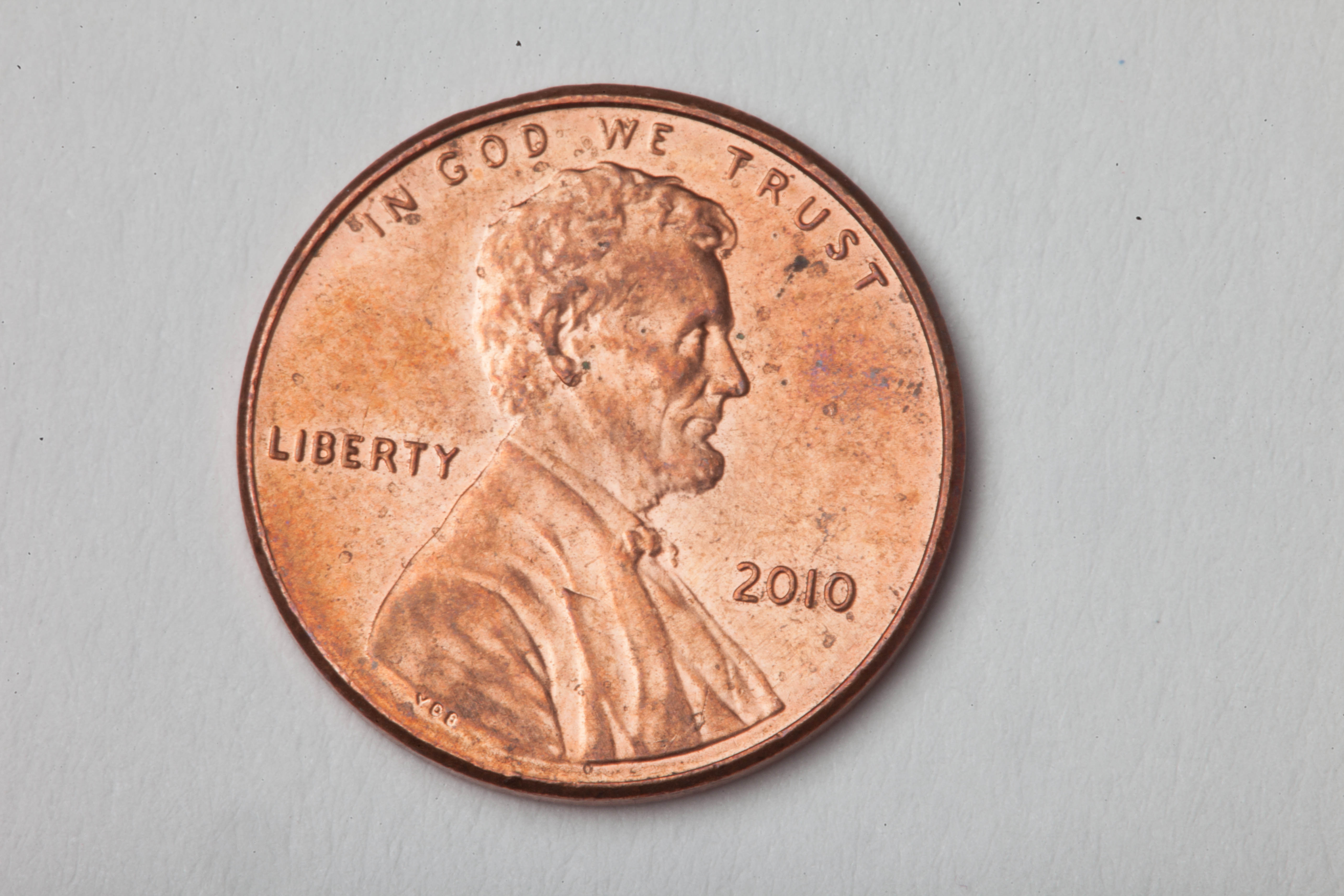 Penny, 1, Abe, Cent, Coin, HQ Photo