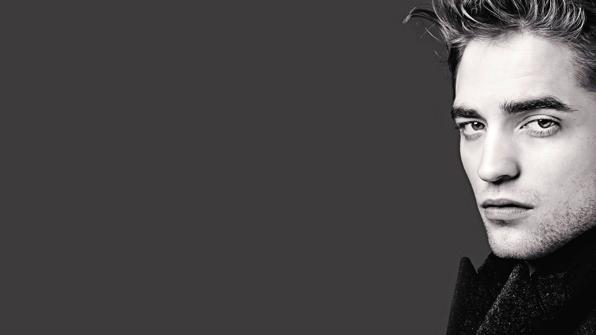 Download wallpaper 1920x1080 robert pattinson, guy, face, pensive ...