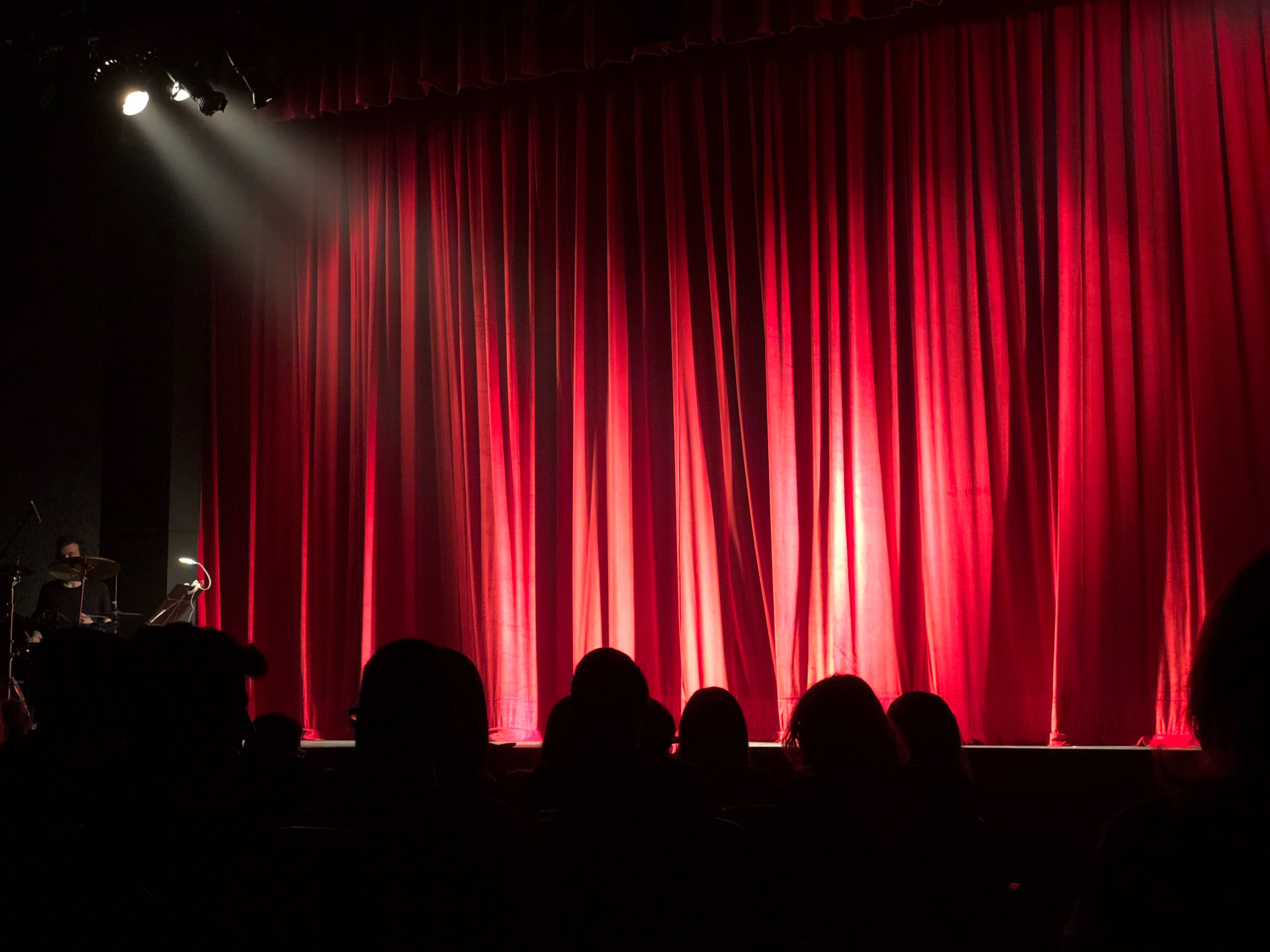 People at theater photo