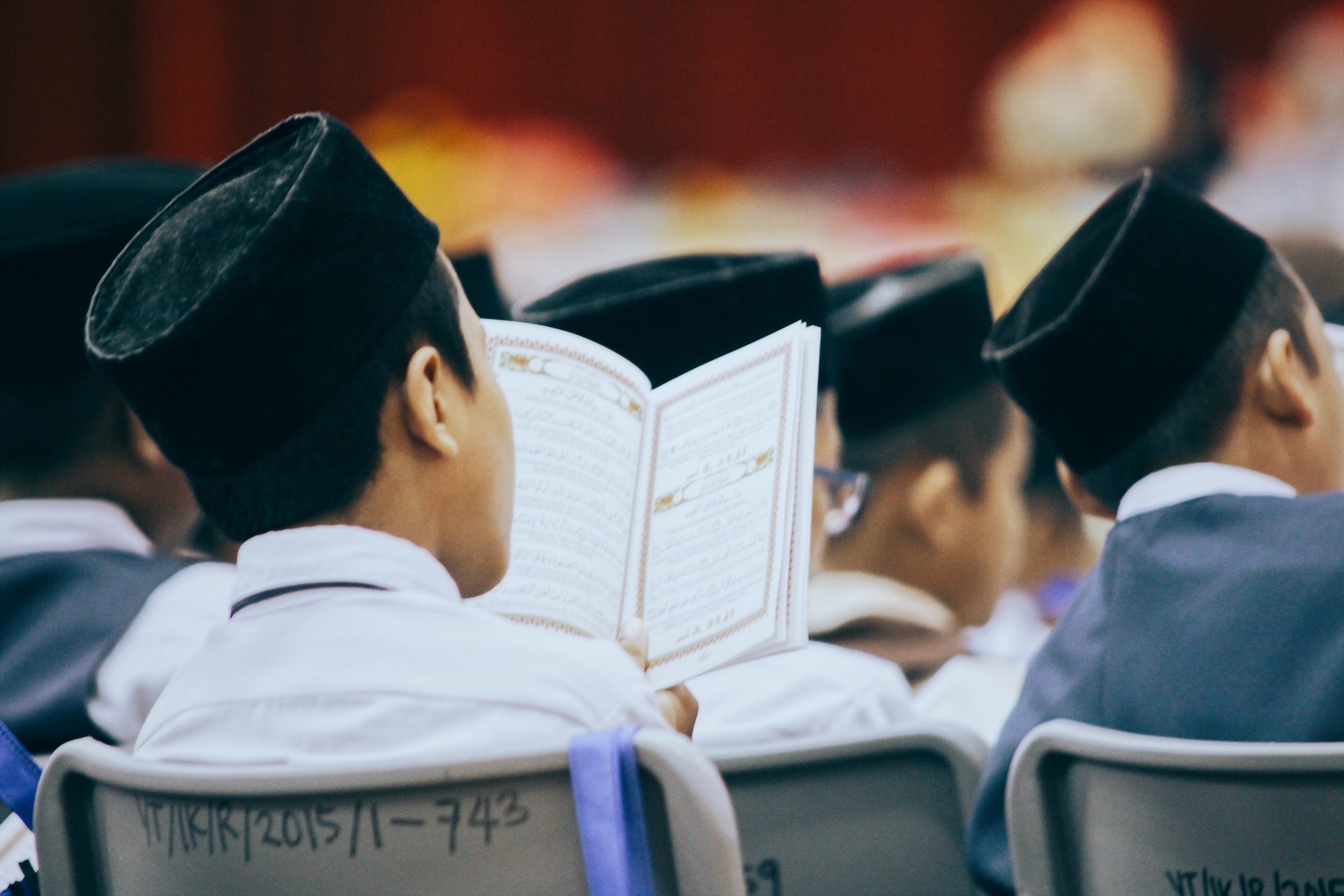 People Sitting on Chair Reading Books, Adolescent, Book, Boys, Education, HQ Photo