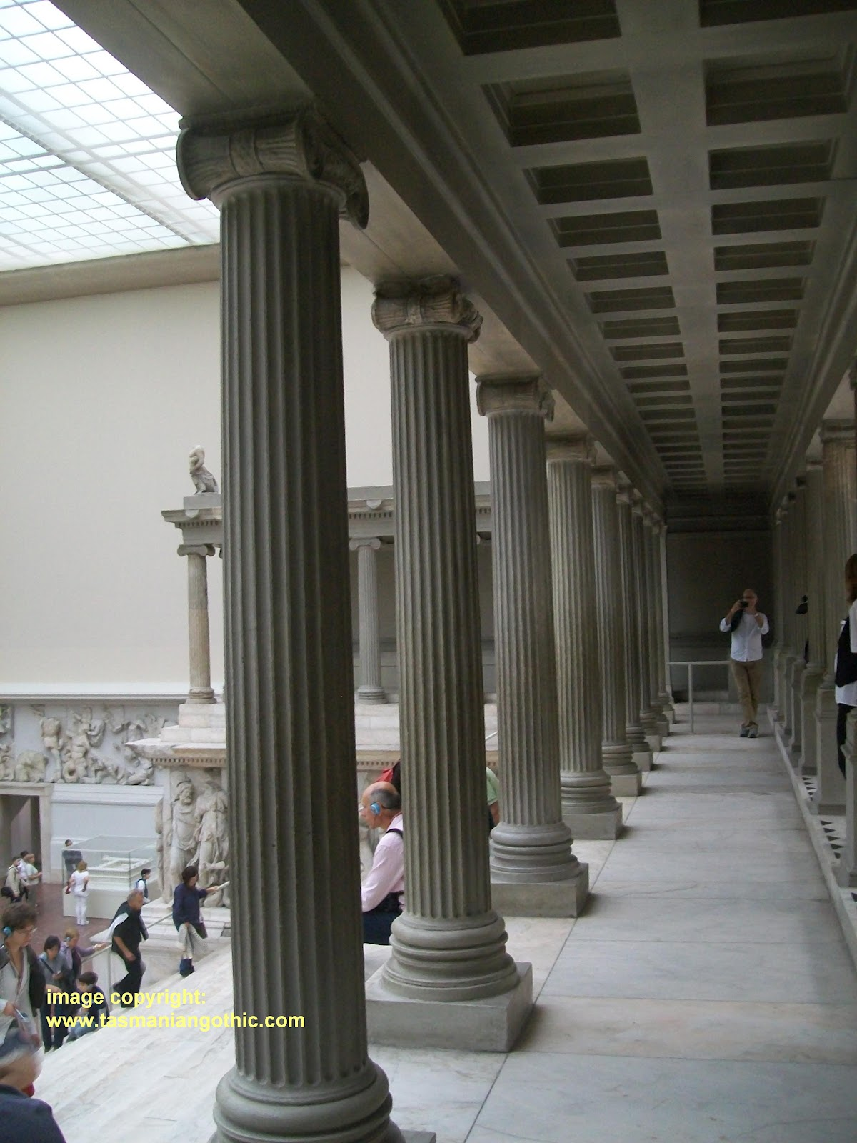 Tasmanian Gothic: Columns: recycling, re-using