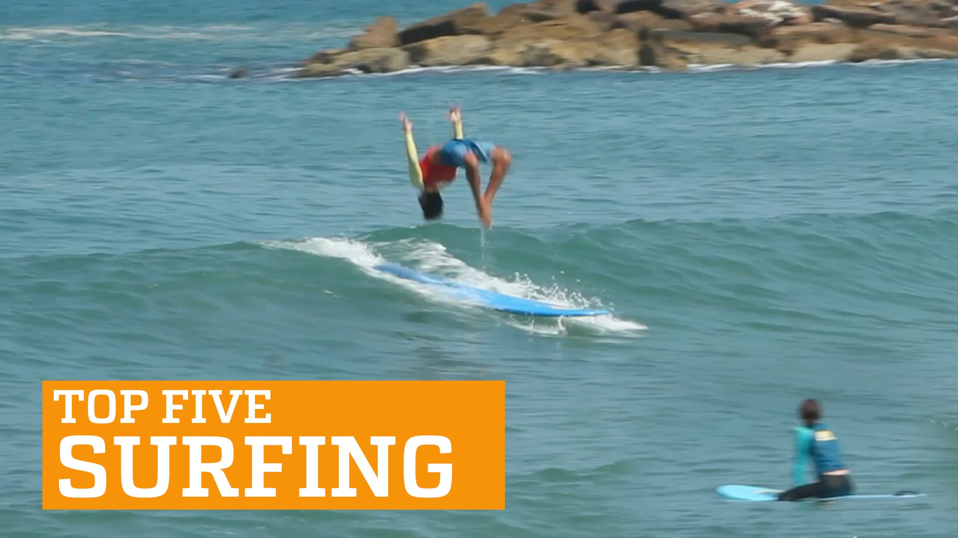 PEOPLE ARE AWESOME: TOP FIVE - SURFING - YouTube