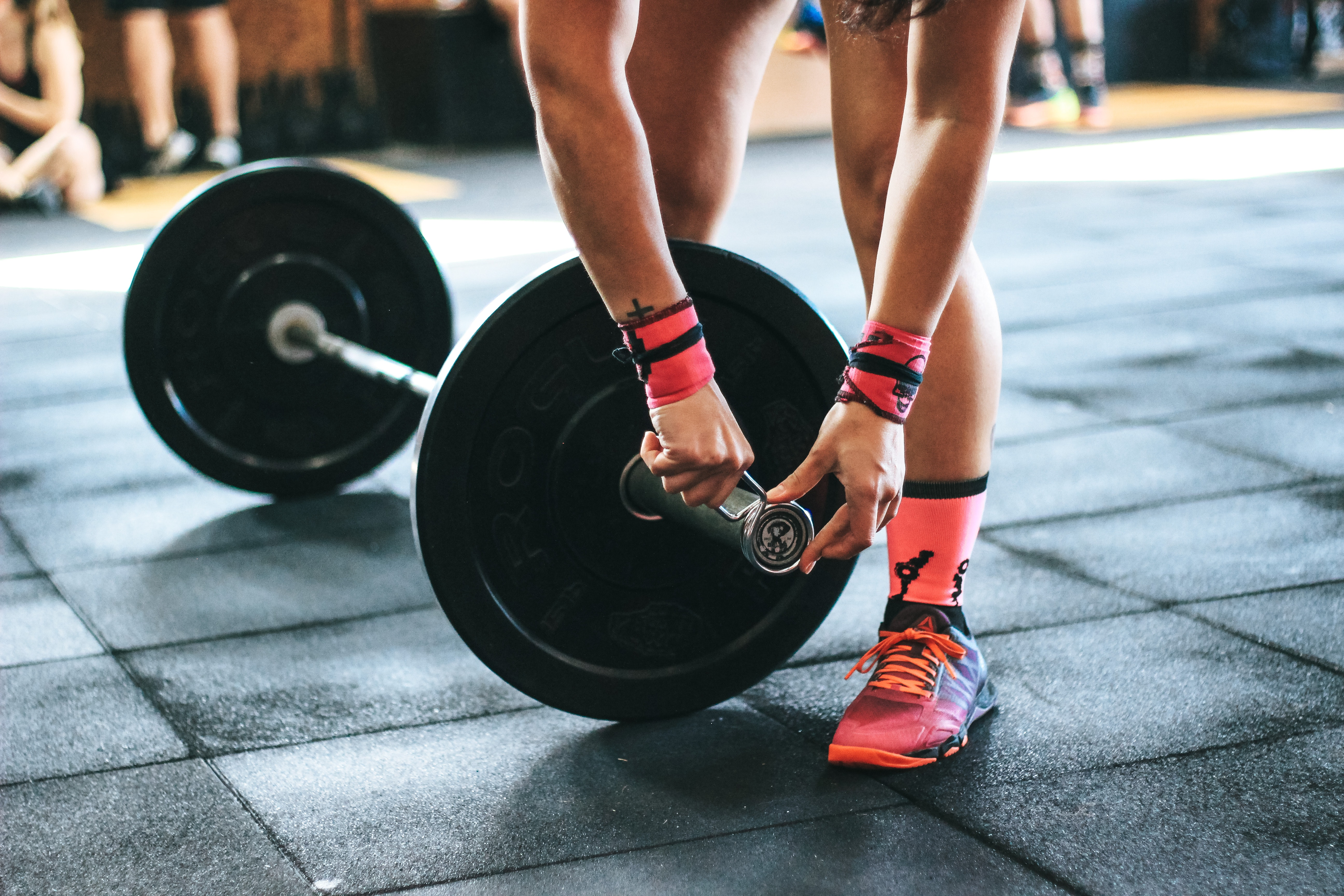 Person Holding Black Barbell, Active, Muscles, Weights, Weightlifting, HQ Photo
