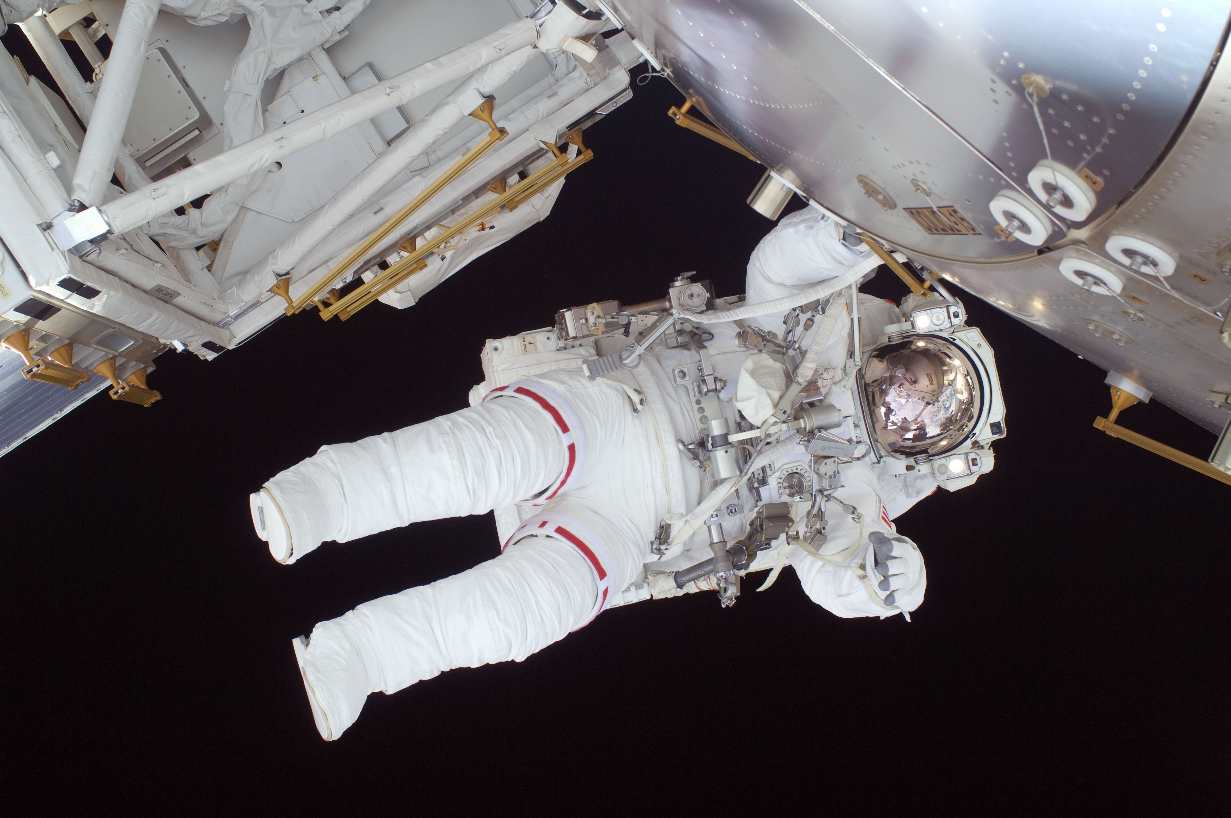 Person in White Astronaut Suit, Astronaut, Man, Person, Research, HQ Photo