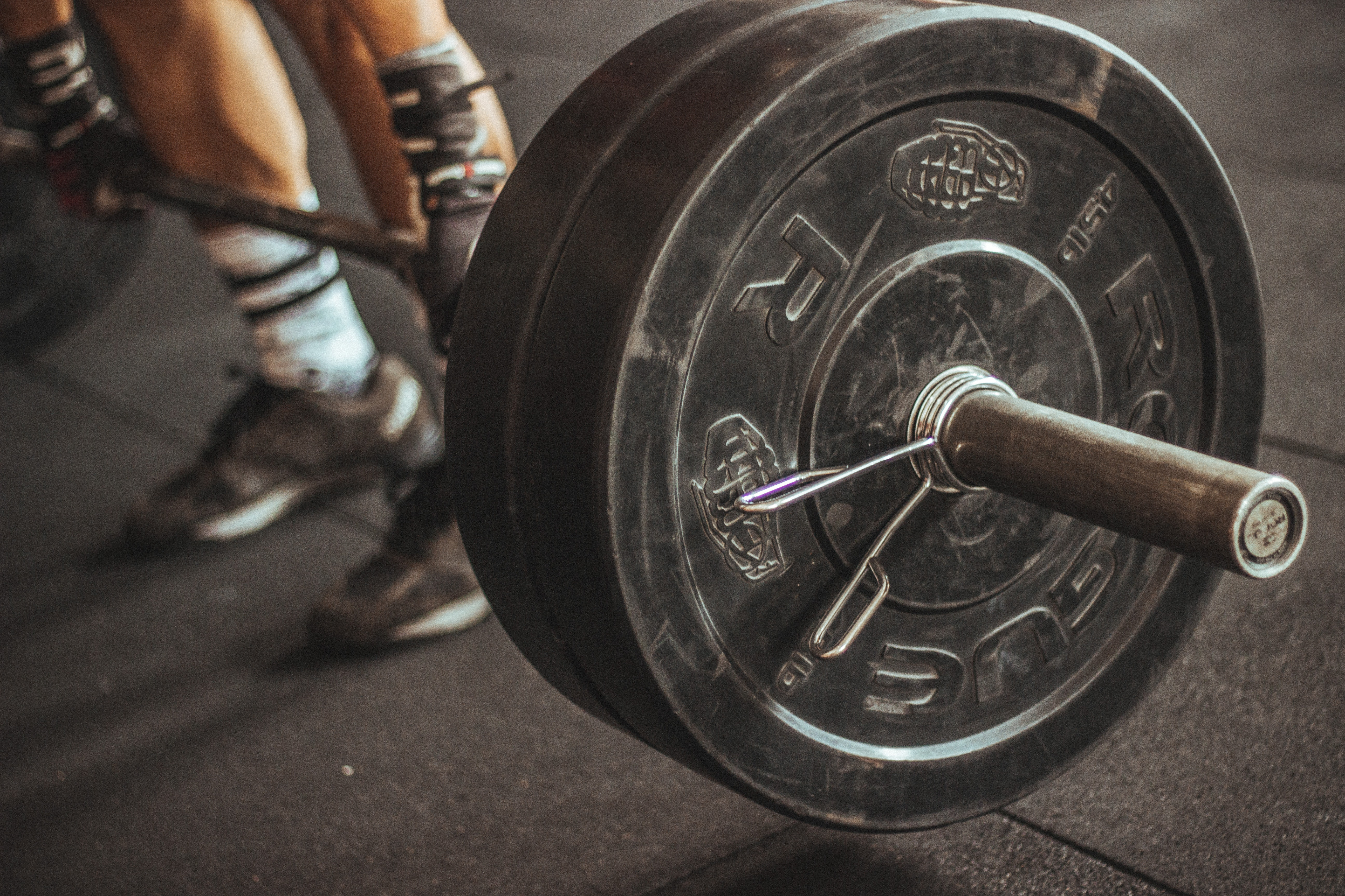 Person Lifting Barbell, Athlete, Indoors, Weights, Weightlifting, HQ Photo