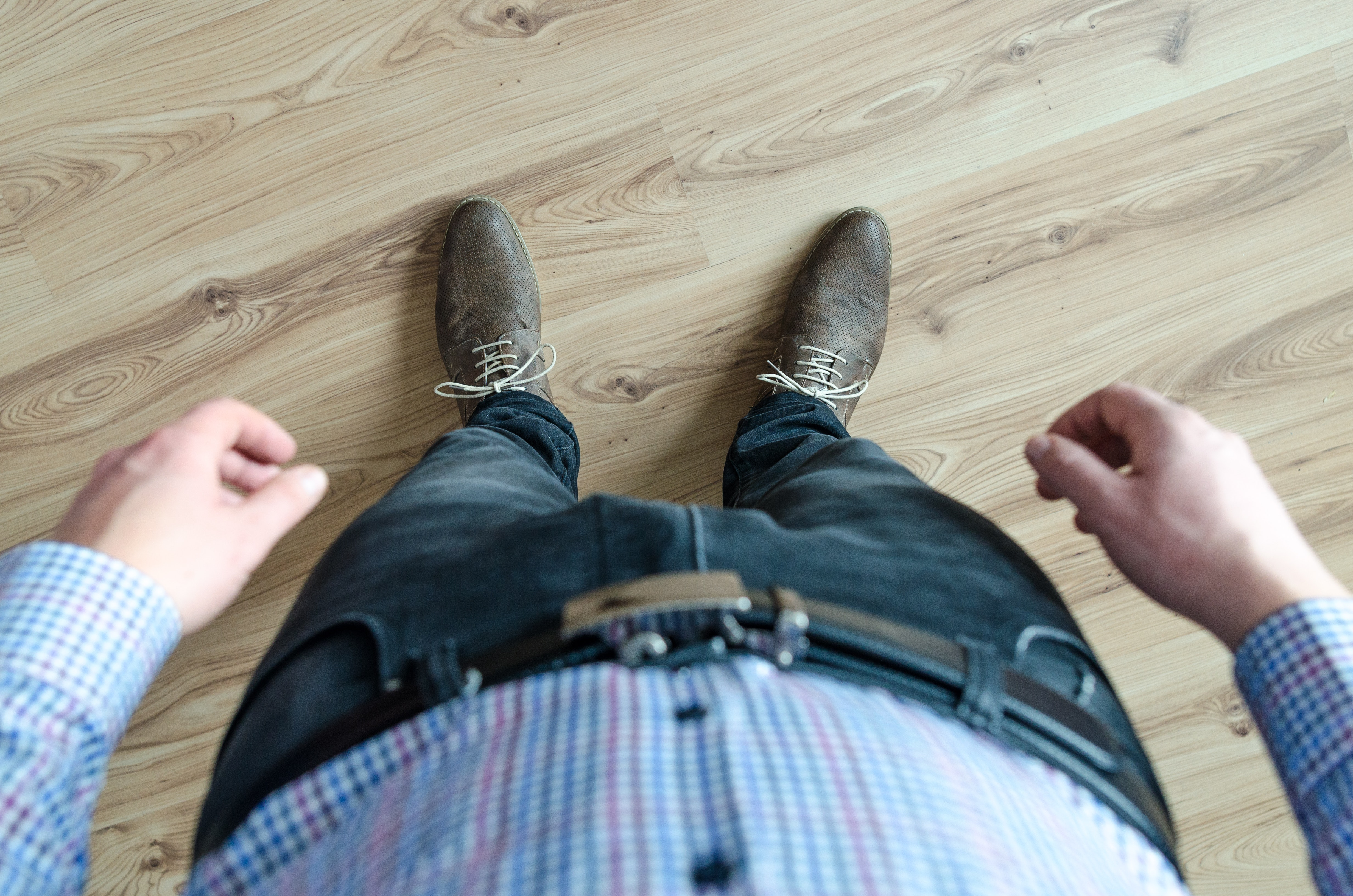 Person Wearing Black Jeans While Standing, Adult, Male, Work, Wear, HQ Photo