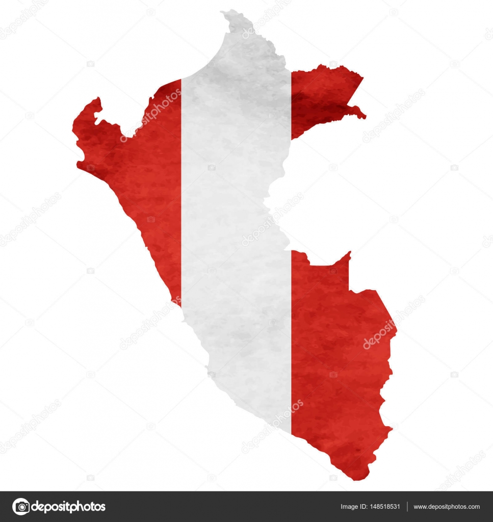 Peru Map National flag icon — Stock Vector © JBOY24 #148518531