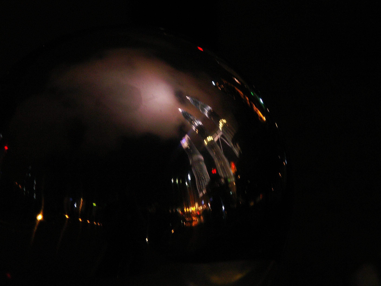 Petronas Reflection on Metal, Petronas, Reflection, Light, Effect, HQ Photo