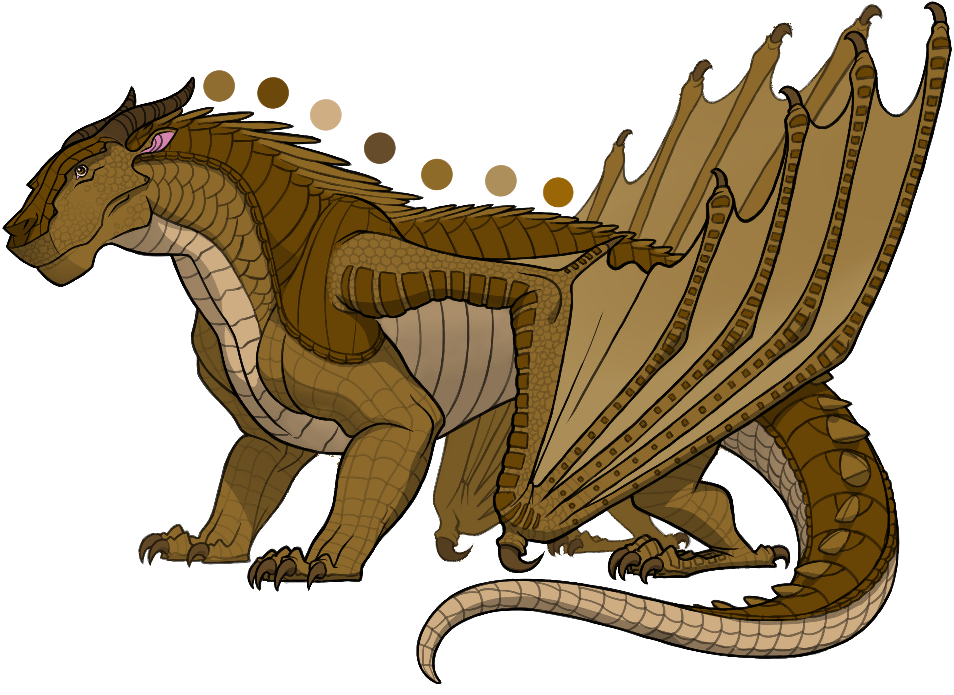 Marsh is a male MudWing with an unknown description | Wings of Fire ...