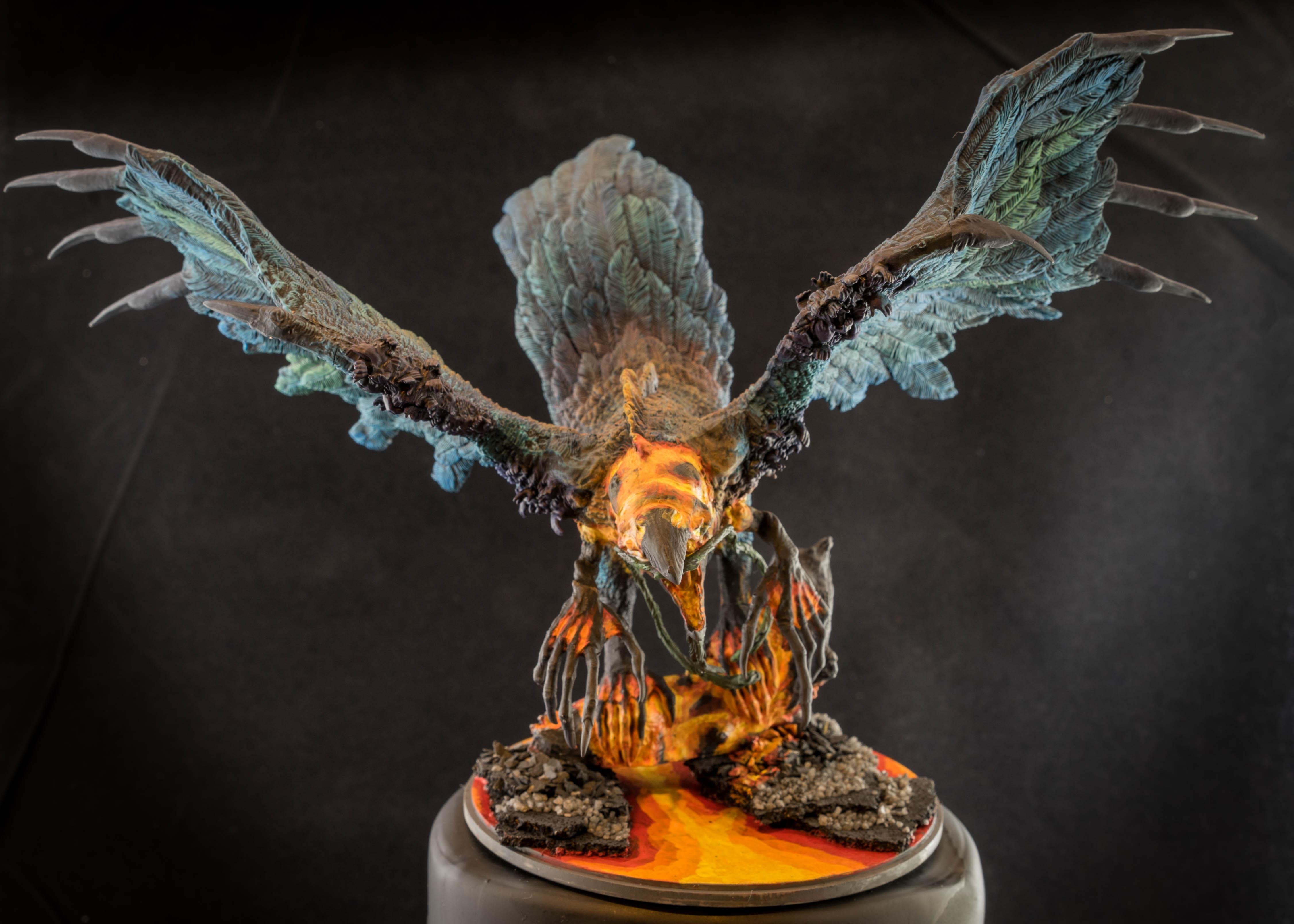 Phoenix - Kingdom Death Painting