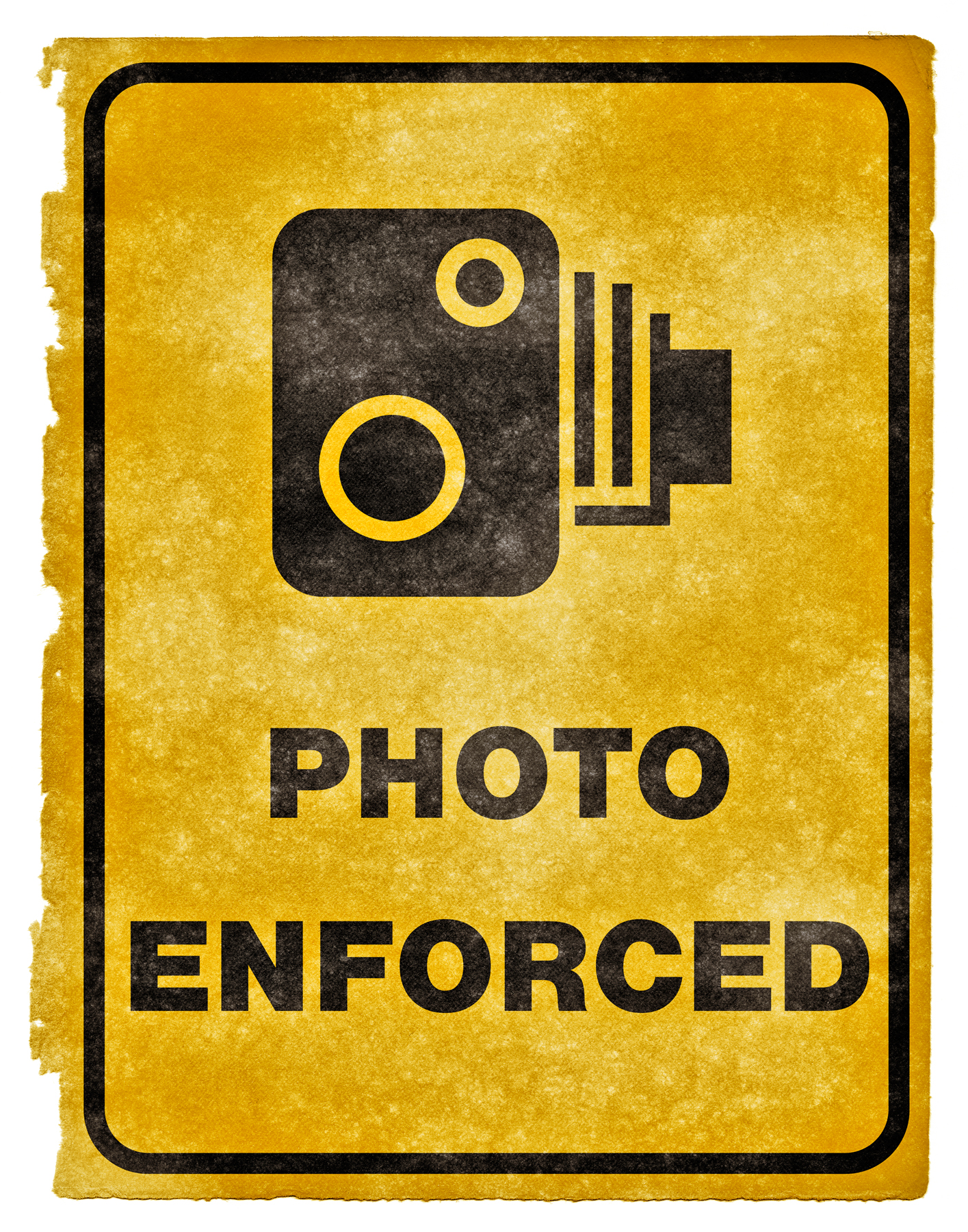 Photo Enforced Grunge Sign, Aged, Speed, Pictograph, Picture, HQ Photo
