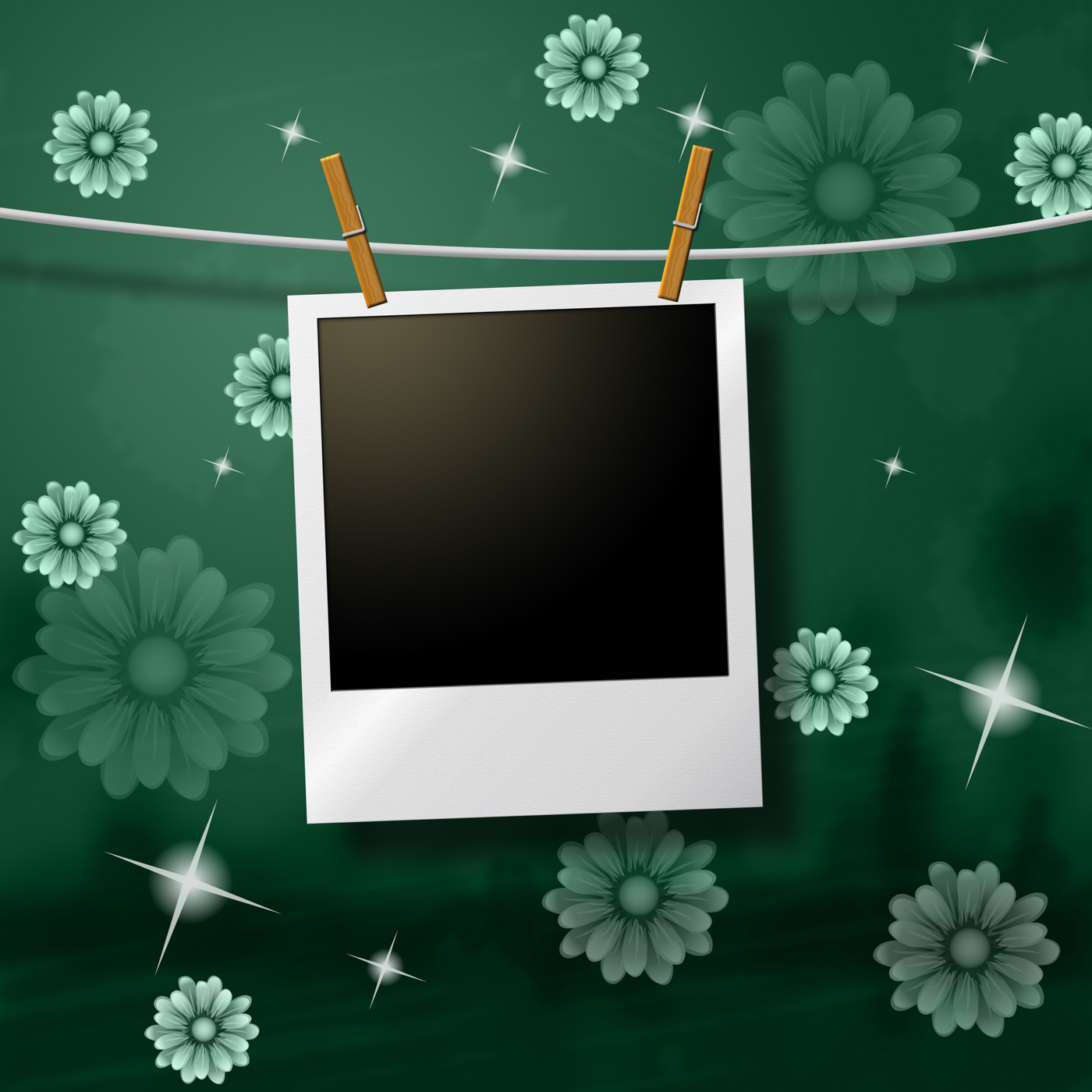 Photo Frames Indicates Text Space And Background, Snapshot, Flowers, Picture, Photography, HQ Photo