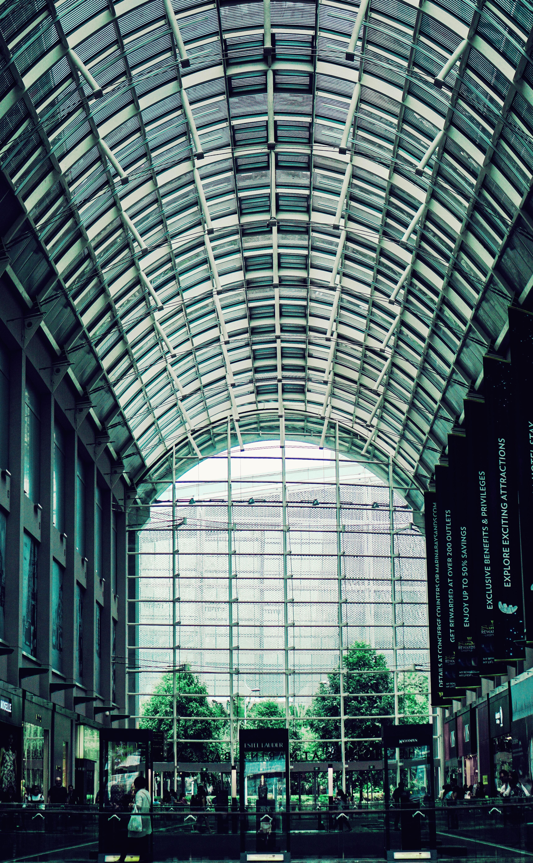 Photo of Building Interior, Modern, Windows, Urban, Trees, HQ Photo