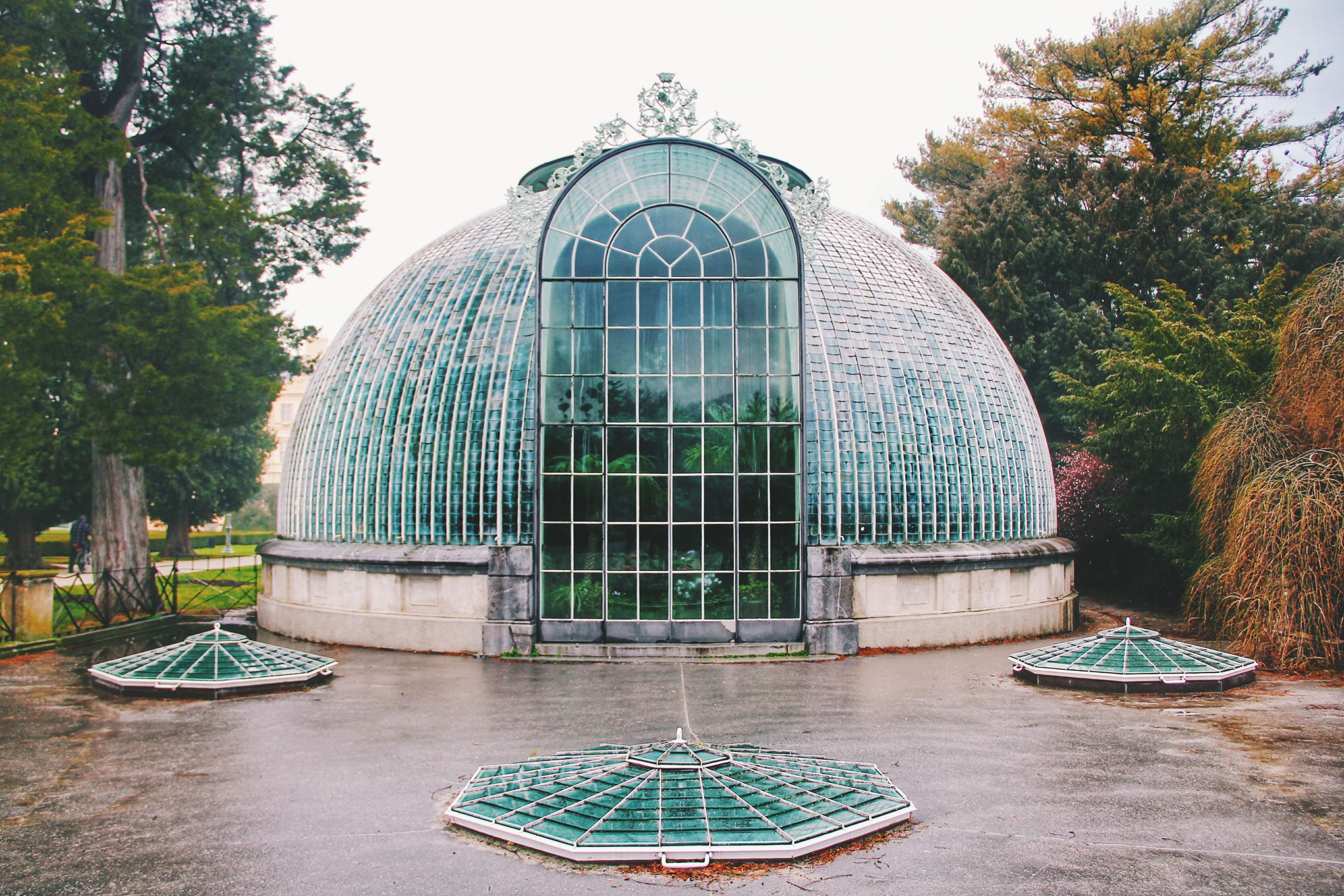Photo of Clear Glass Building, Architectural design, Green house, Trees, Travel, HQ Photo