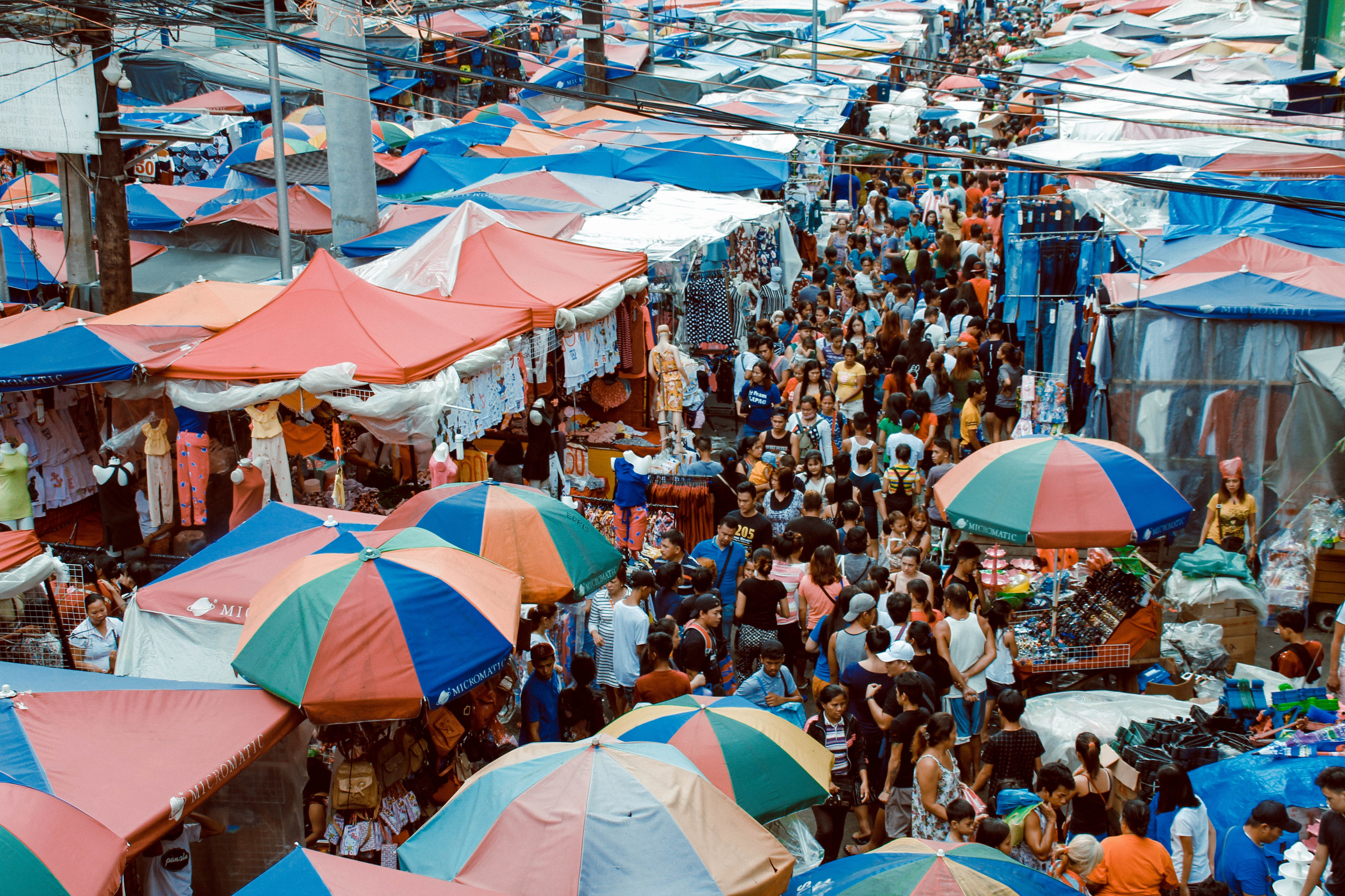 Photo of Crowd of People in the Market, Sell, Urban, Travel, Tourists, HQ Photo