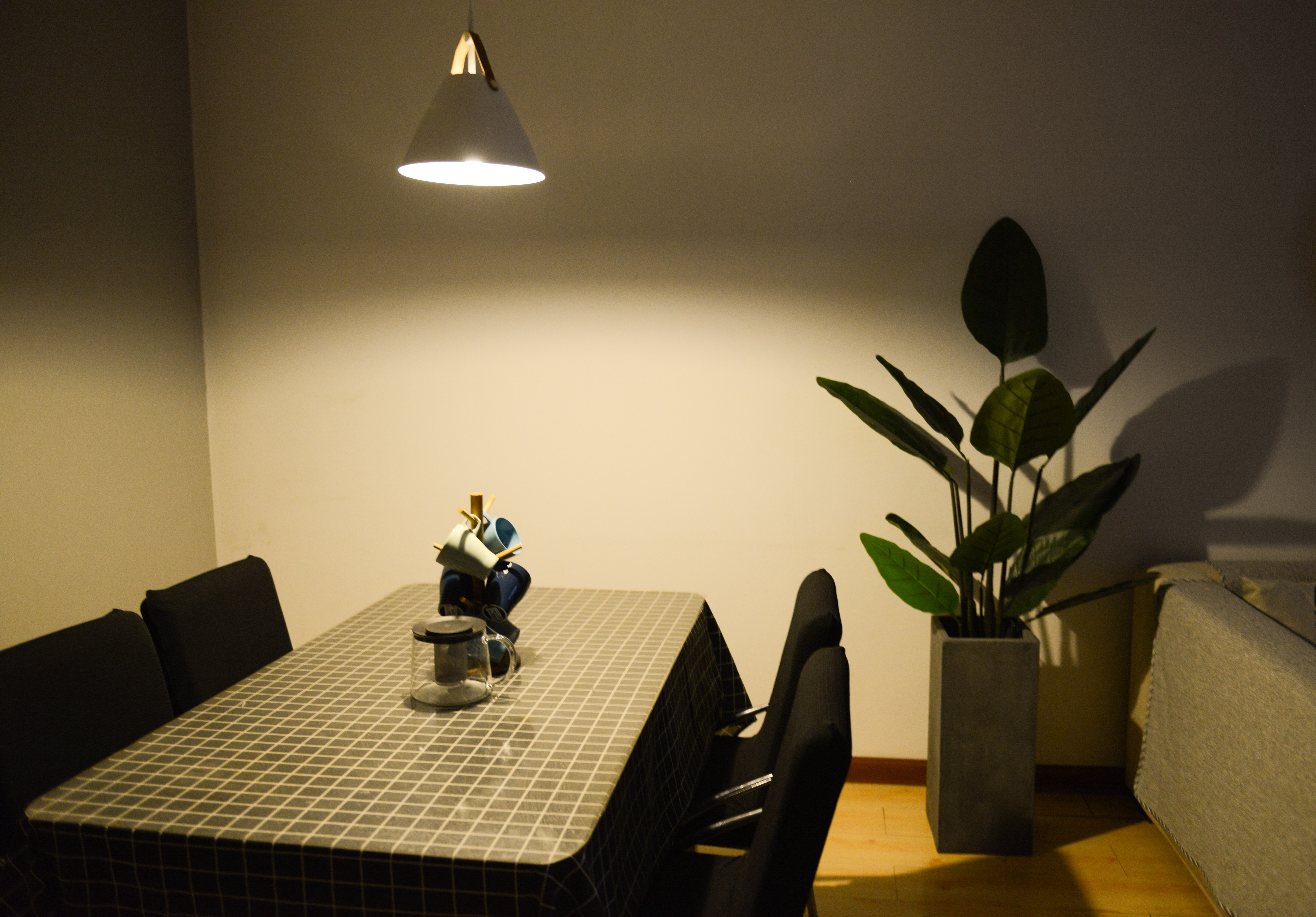 Photo of Dining Table near the Plant, Apartment, Leaves, Vase, Table, HQ Photo