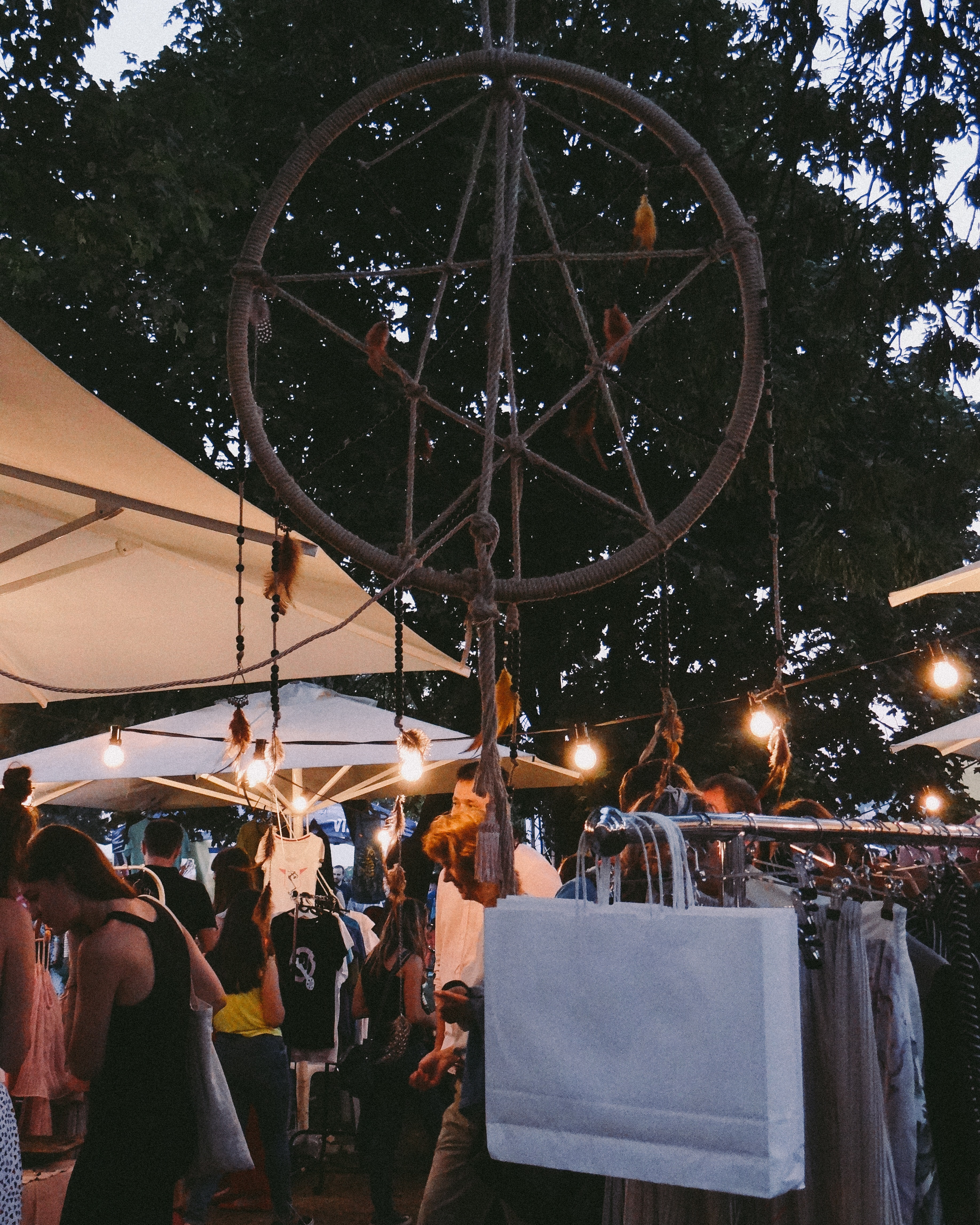 Photo of Dream Catcher in the Market, Adult, Market, Stall, Shopping, HQ Photo